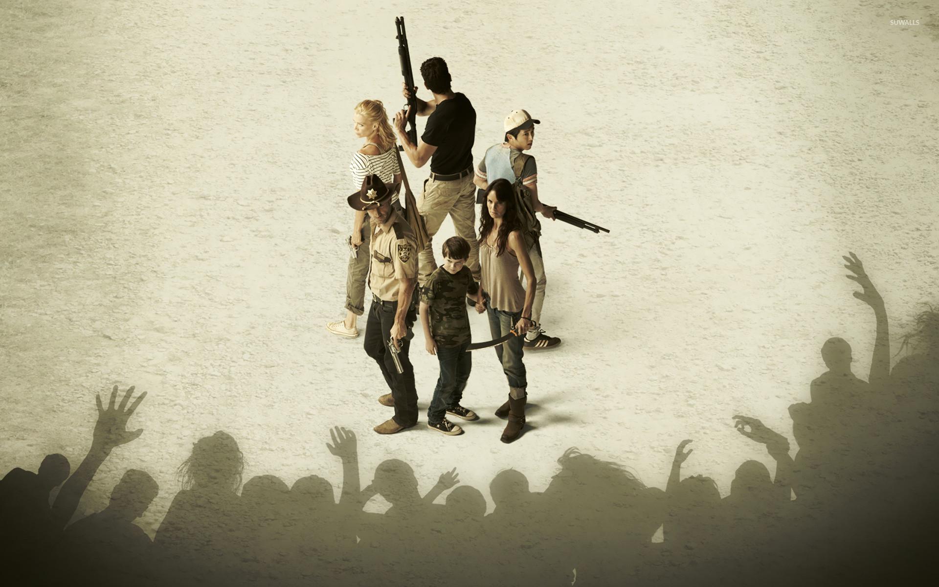 The Walking Dead Walker Ambush HD Wallpaper