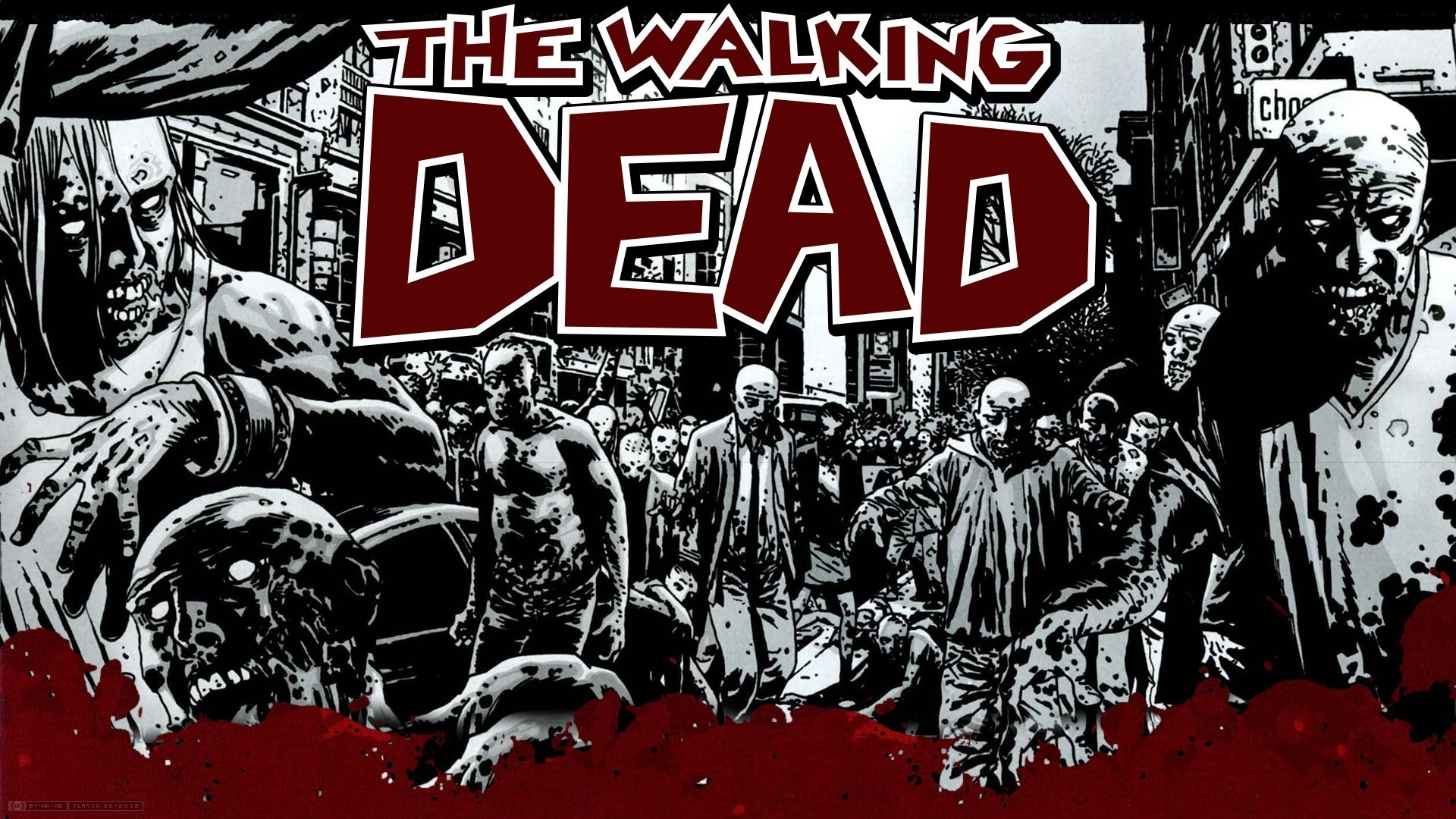 The Walking Dead Computer Wallpapers, Desktop Backgrounds 1920×1200 The  Walking Dead Desktop Backgrounds