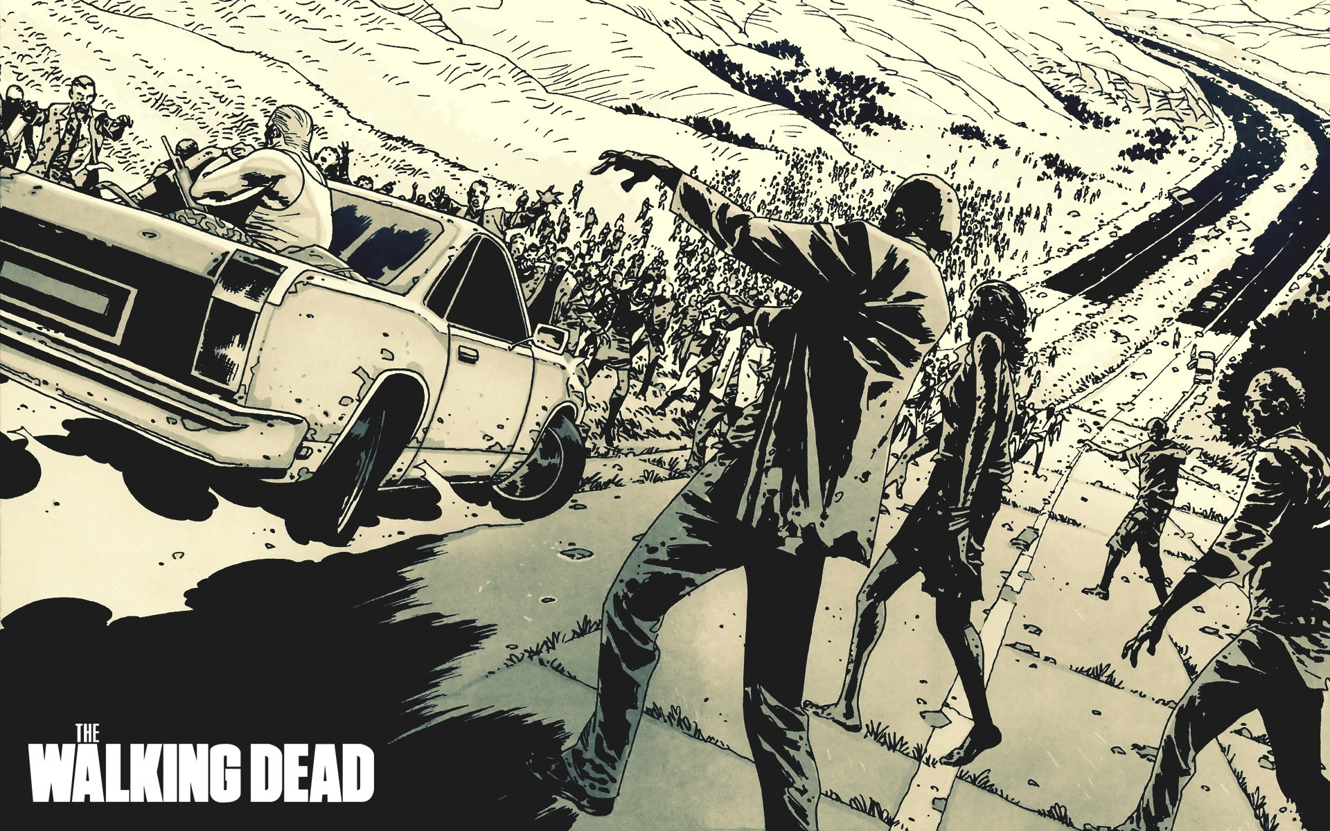 197 The Walking Dead HD Wallpapers | Backgrounds – Wallpaper Abyss – Page 2