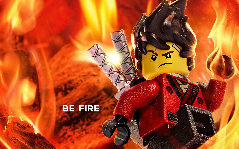 Kai Be Fire The Lego Ninjago Movie 2017