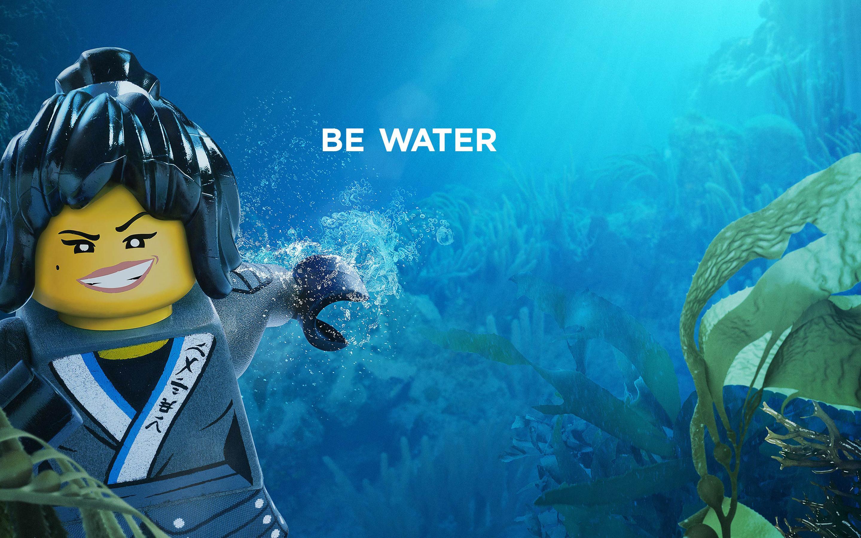 Nya Be Water The Lego Ninjago Movie 2017