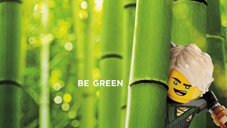 Lloyd, Be Green, The Lego Ninjago Movie, 2017