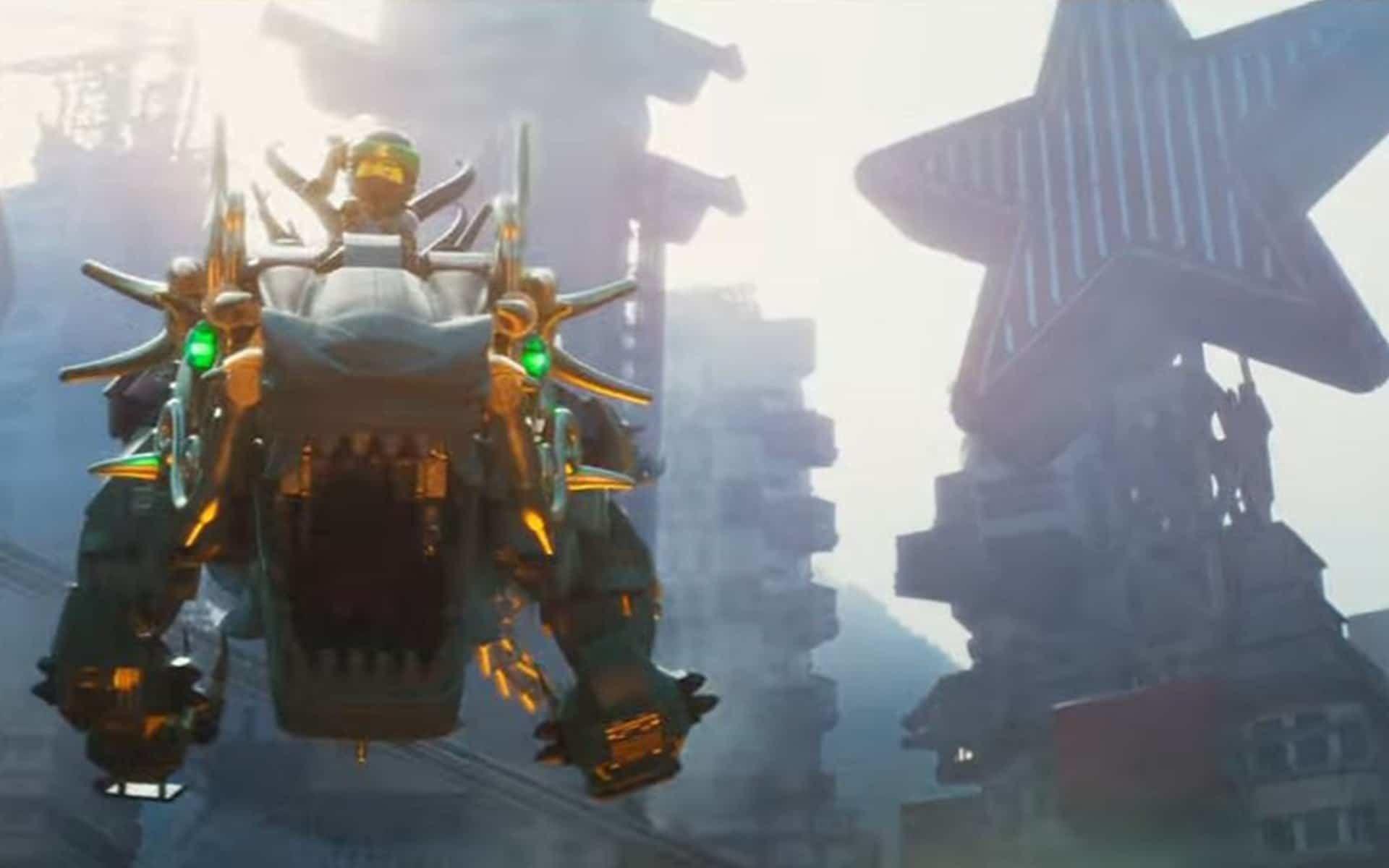 3D Cmputer-Animated Film The LEGO Ninjago Movie Wallpapers