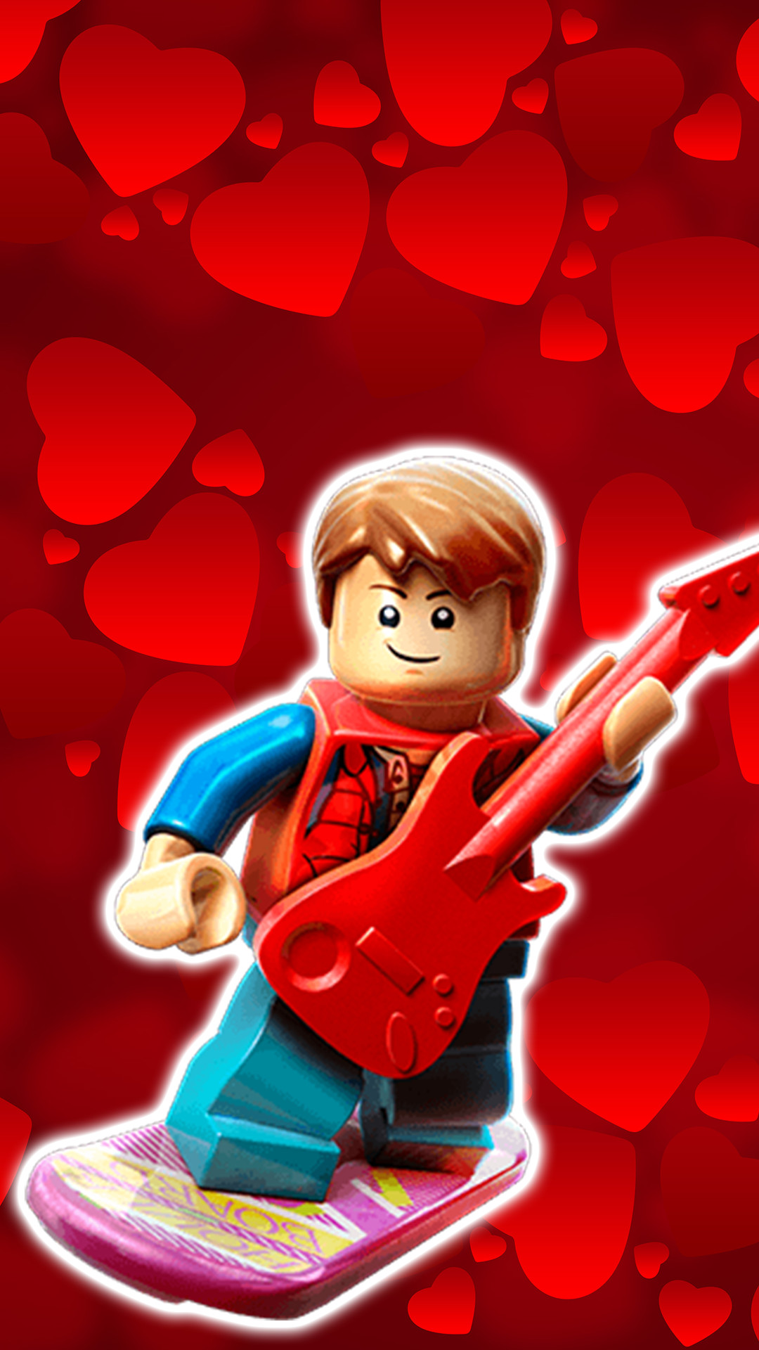 Marty McFly Lego Dimensions Wallpaper