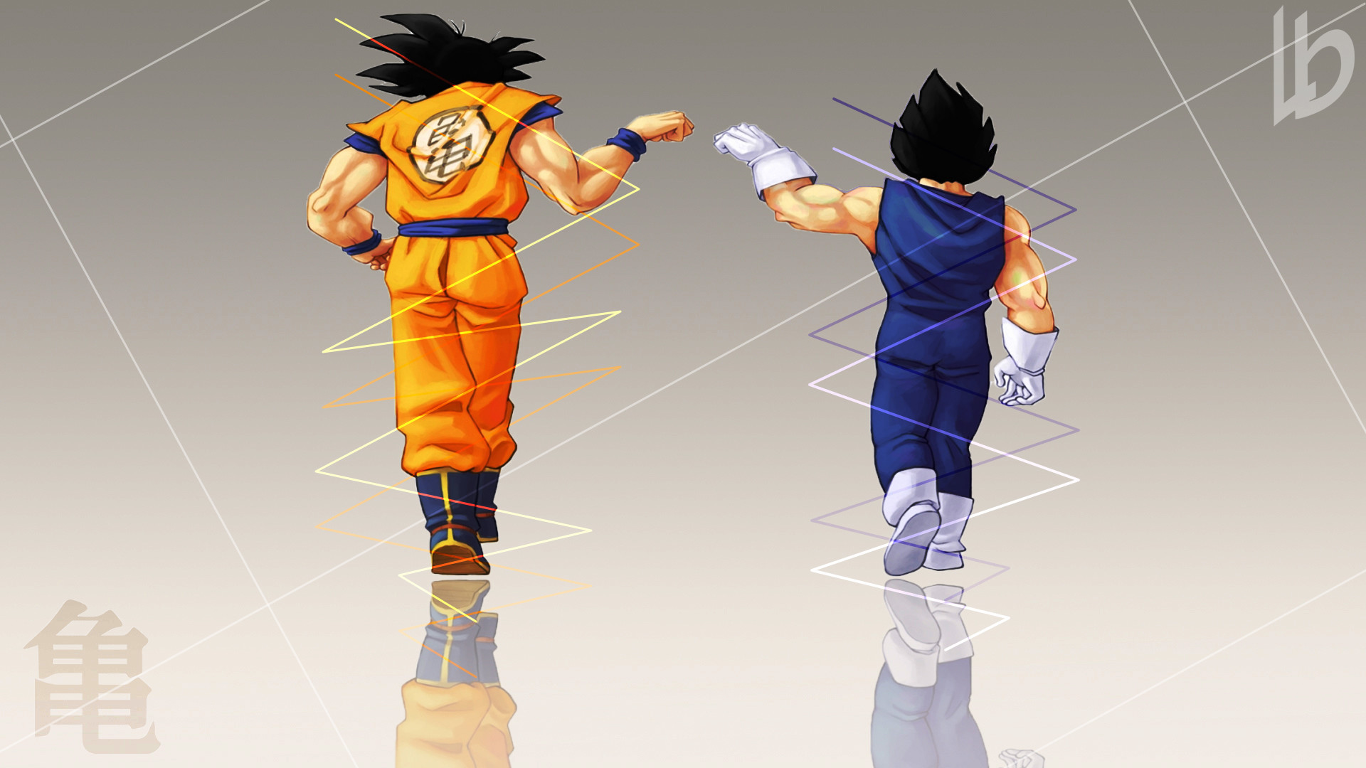 Anime – Dragon Ball Z Goku Vegeta (Dragon Ball) Wallpaper
