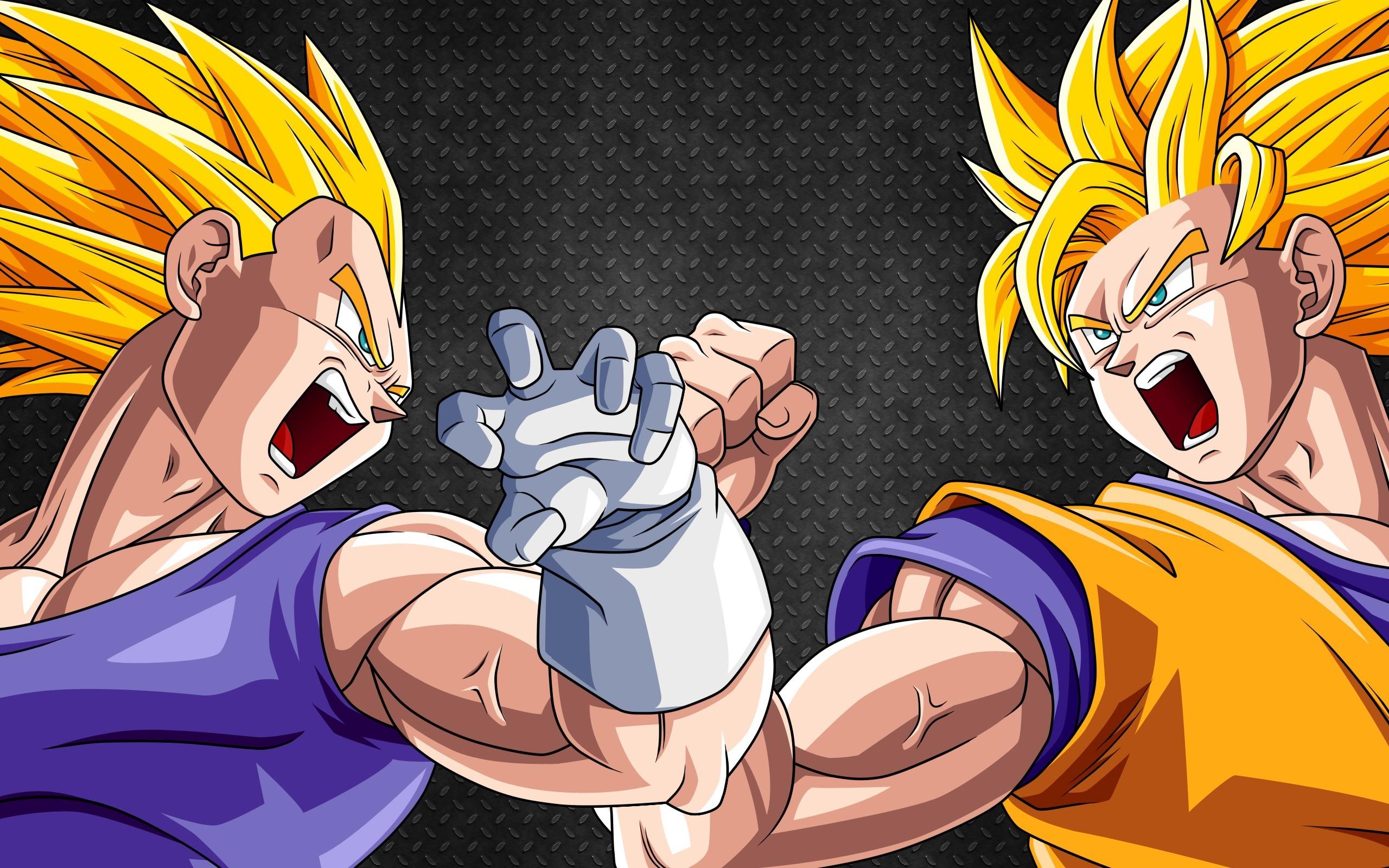 Vegeta y Goku hd – imagenes – wallpapers gratis – Dibujos .