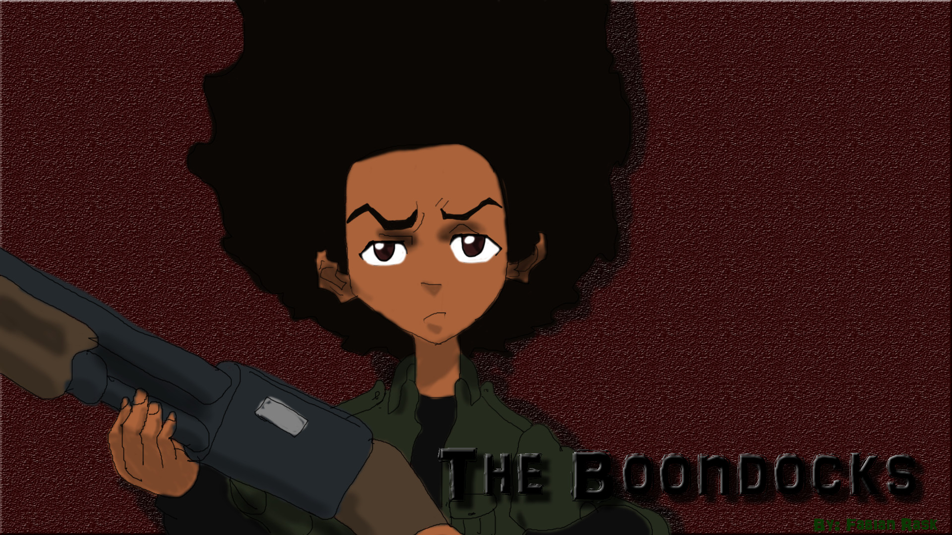 The Boondocks – Huey Freeman by FlutterFabbe on DeviantArt
