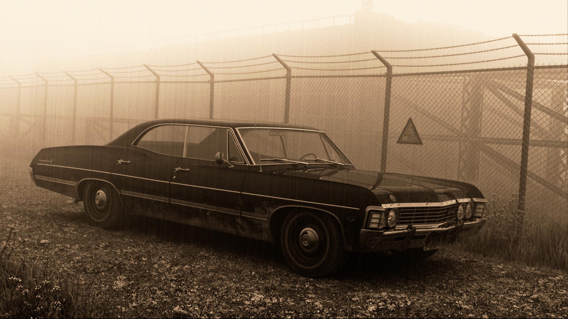 1967 Chevy Impala Supernatural, chevrolet impala iphone wallpaper .
