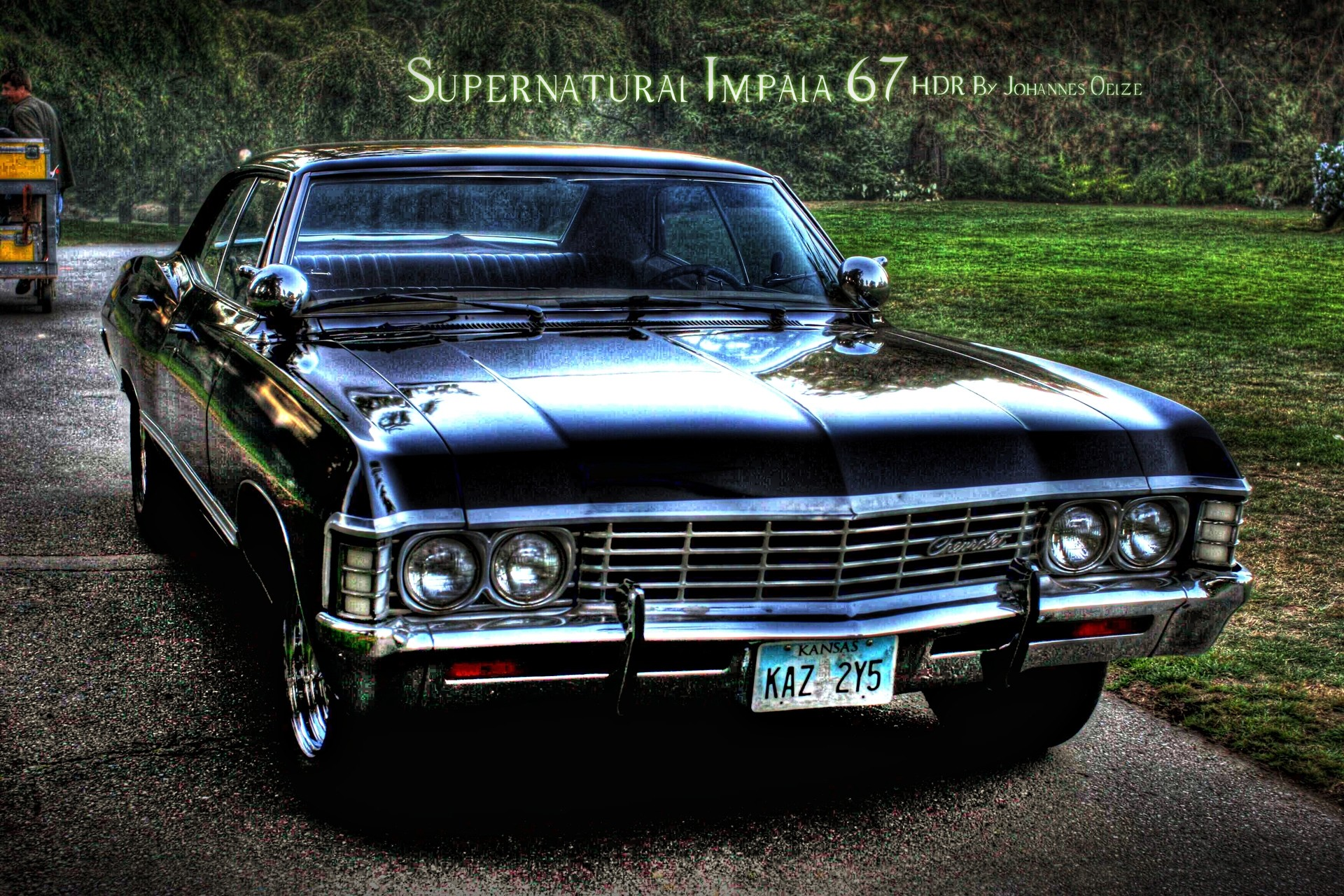 1967 Chevy Impala — If I'm going old school, this would be my car. Just  like the one in Supernatural.