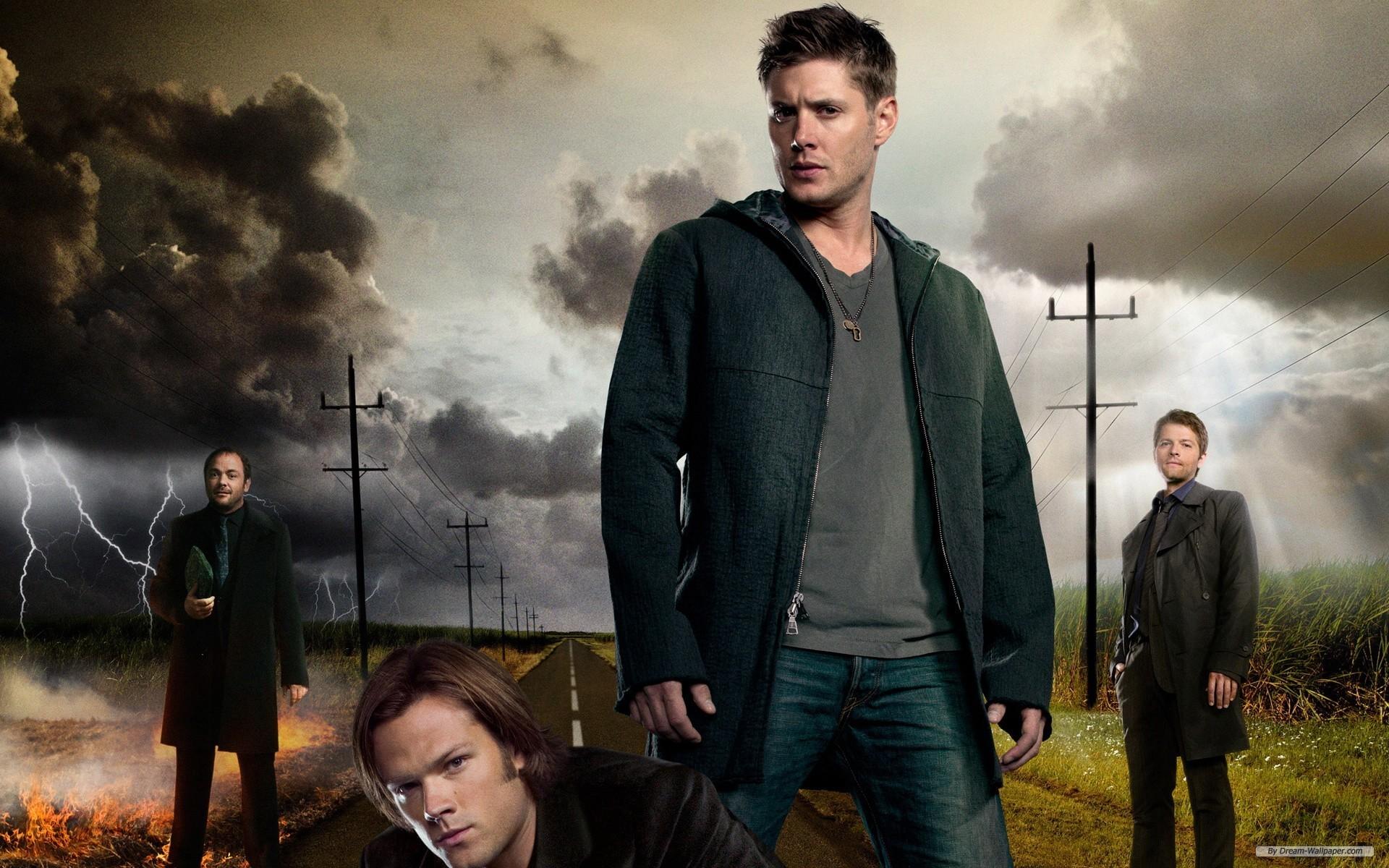 Sam Dean Castiel And Crowley wallpaper – 989827