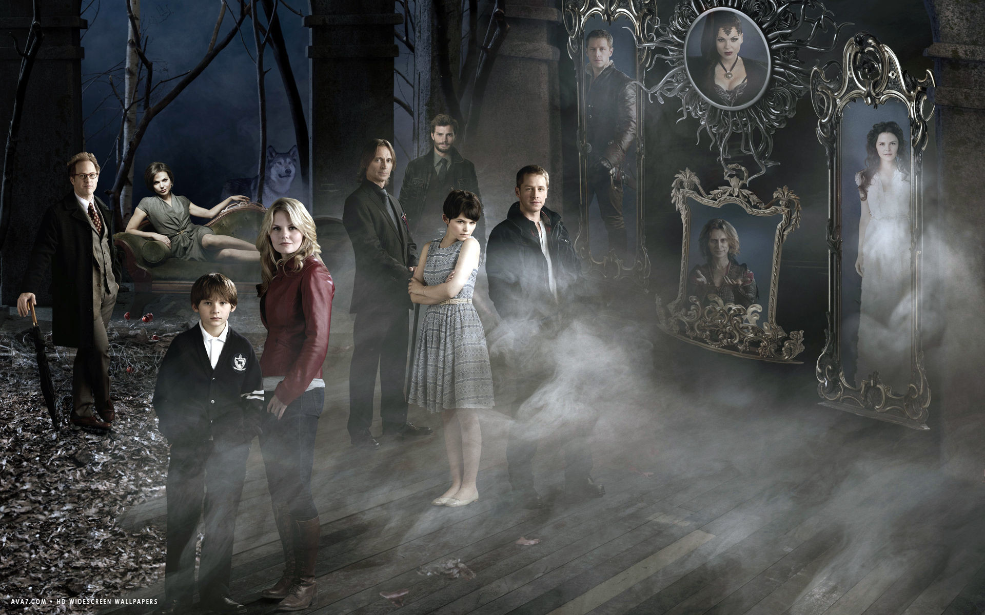 once upon a time tv series show hd widescreen wallpaper