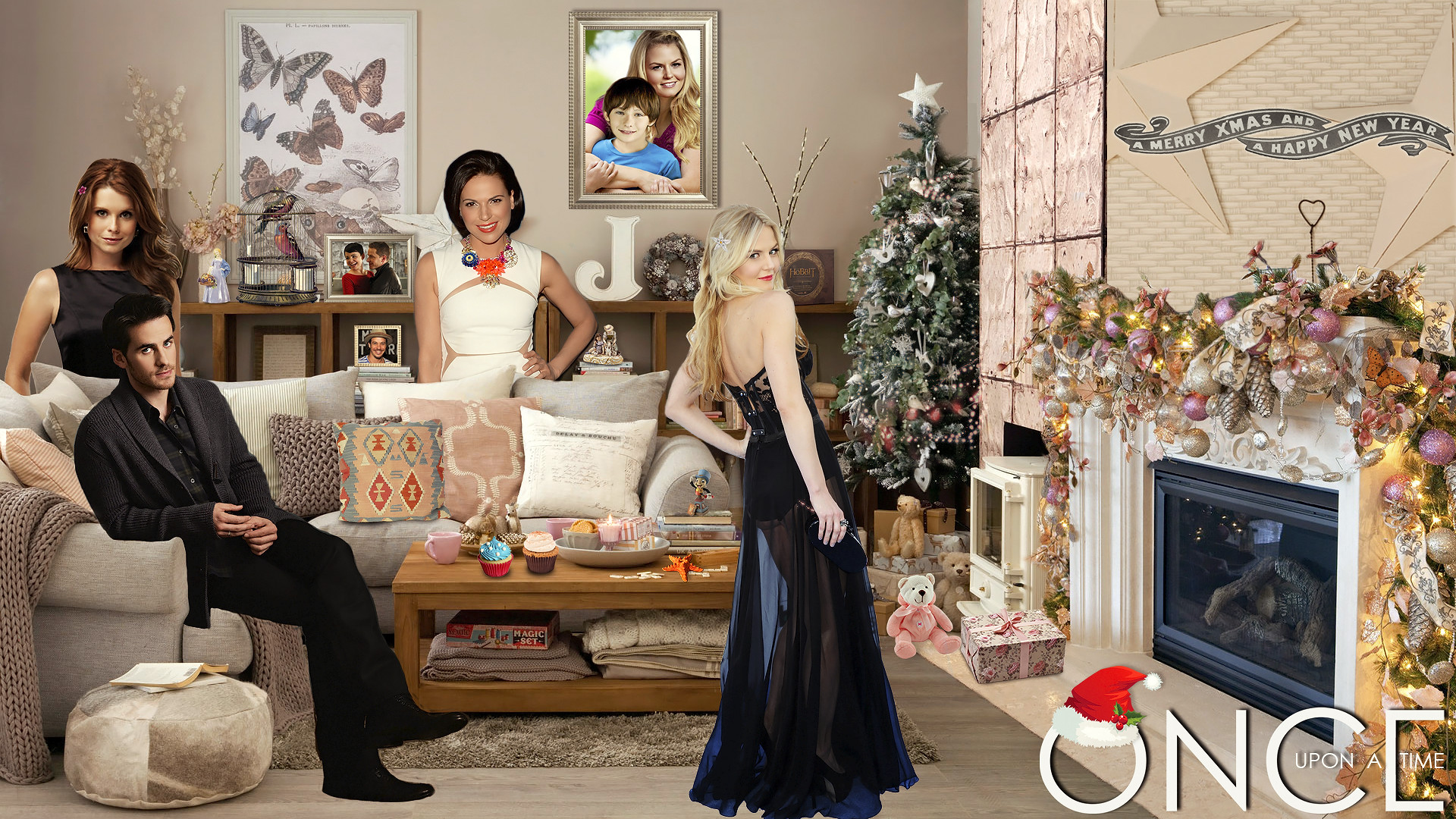 … Once upon a time christmas by GladnessGalvin