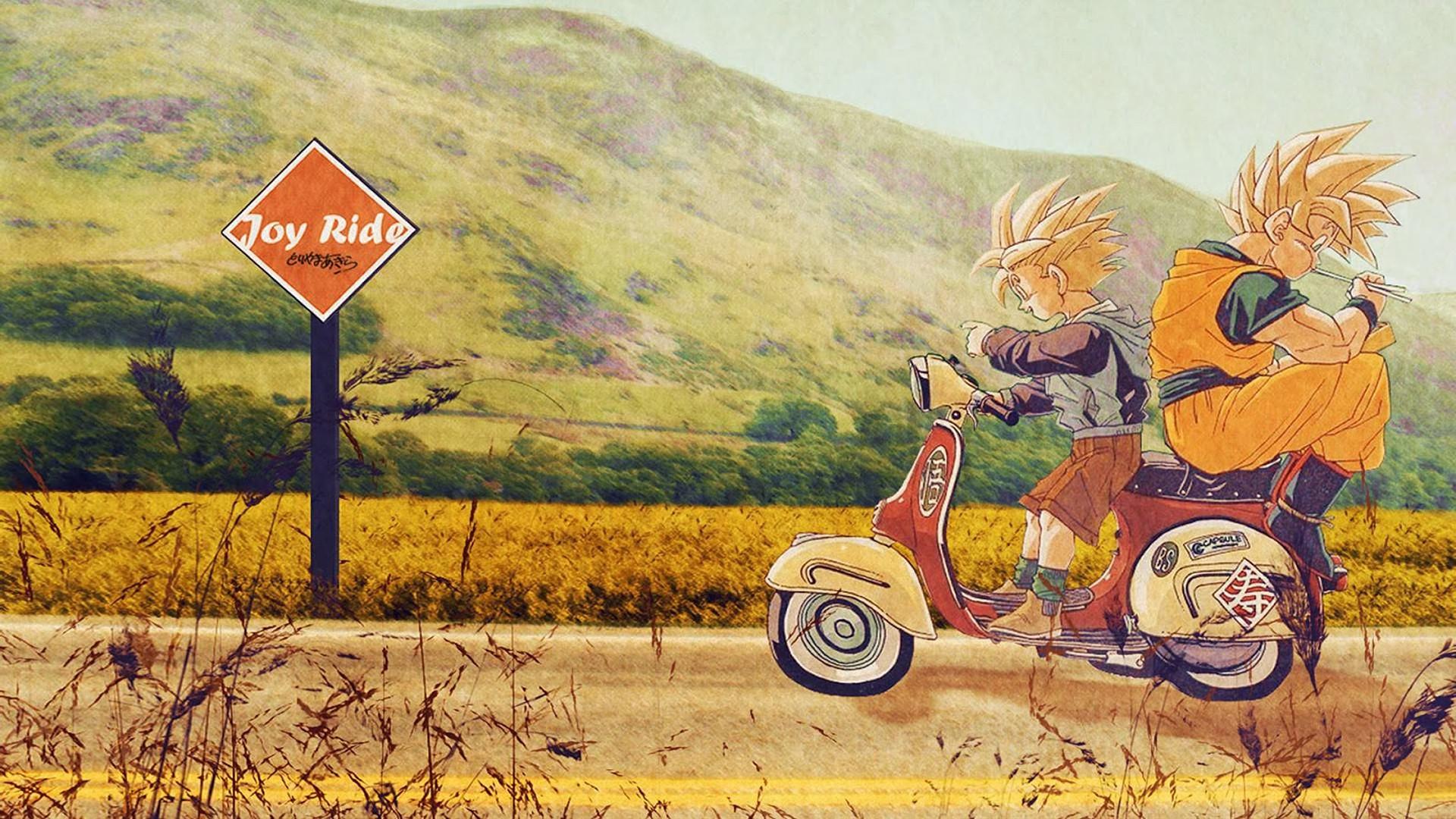 ImageAn awesome Goku and Gohan wallpaper [1920×1080] …