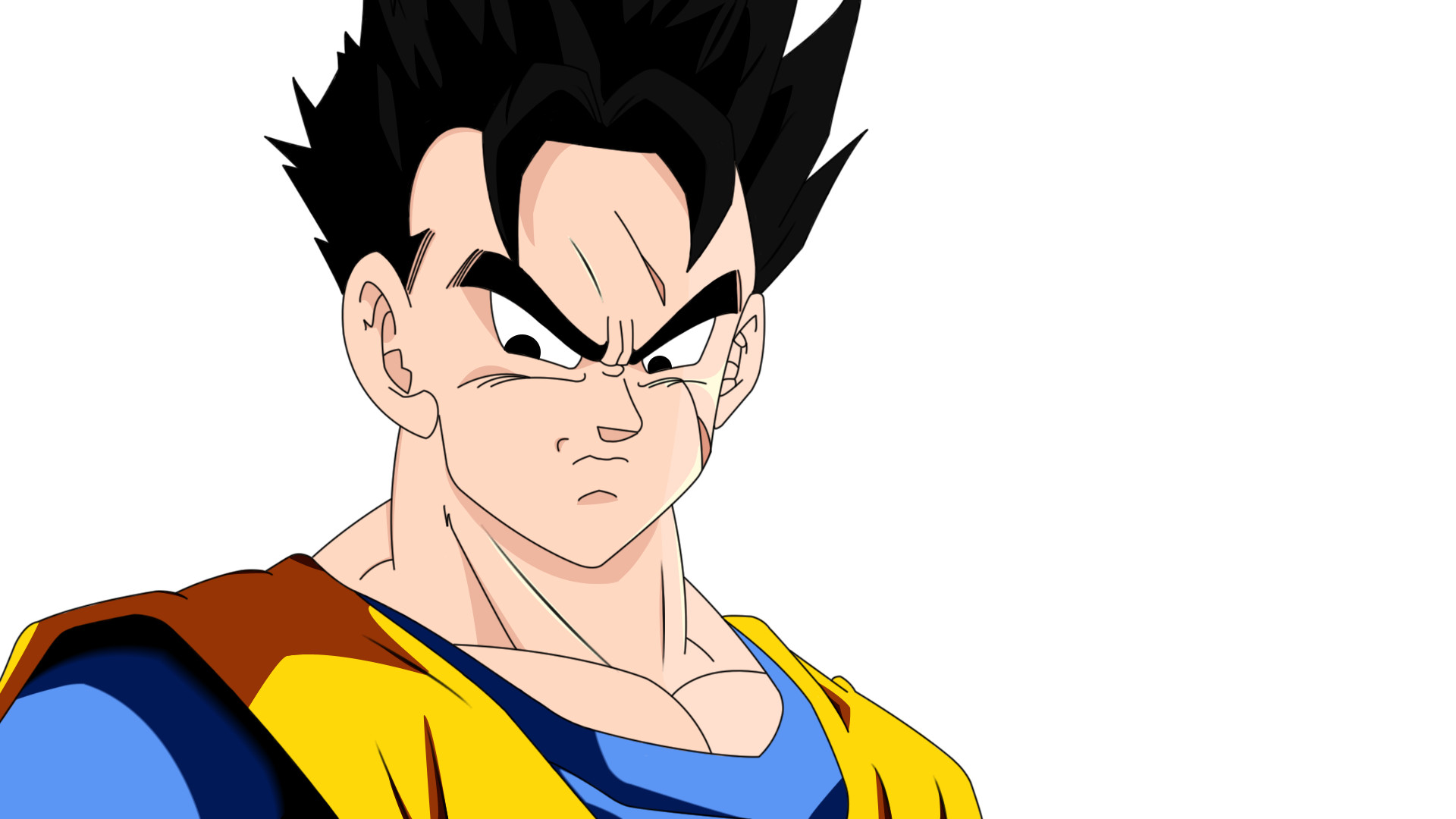 Future Gohan Render by DesertWiggle Future Gohan Render by DesertWiggle