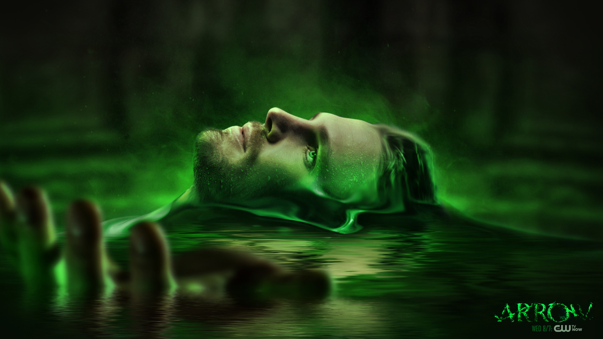 Preview wallpaper arrow, oliver queen, stephen amell 1920×1080