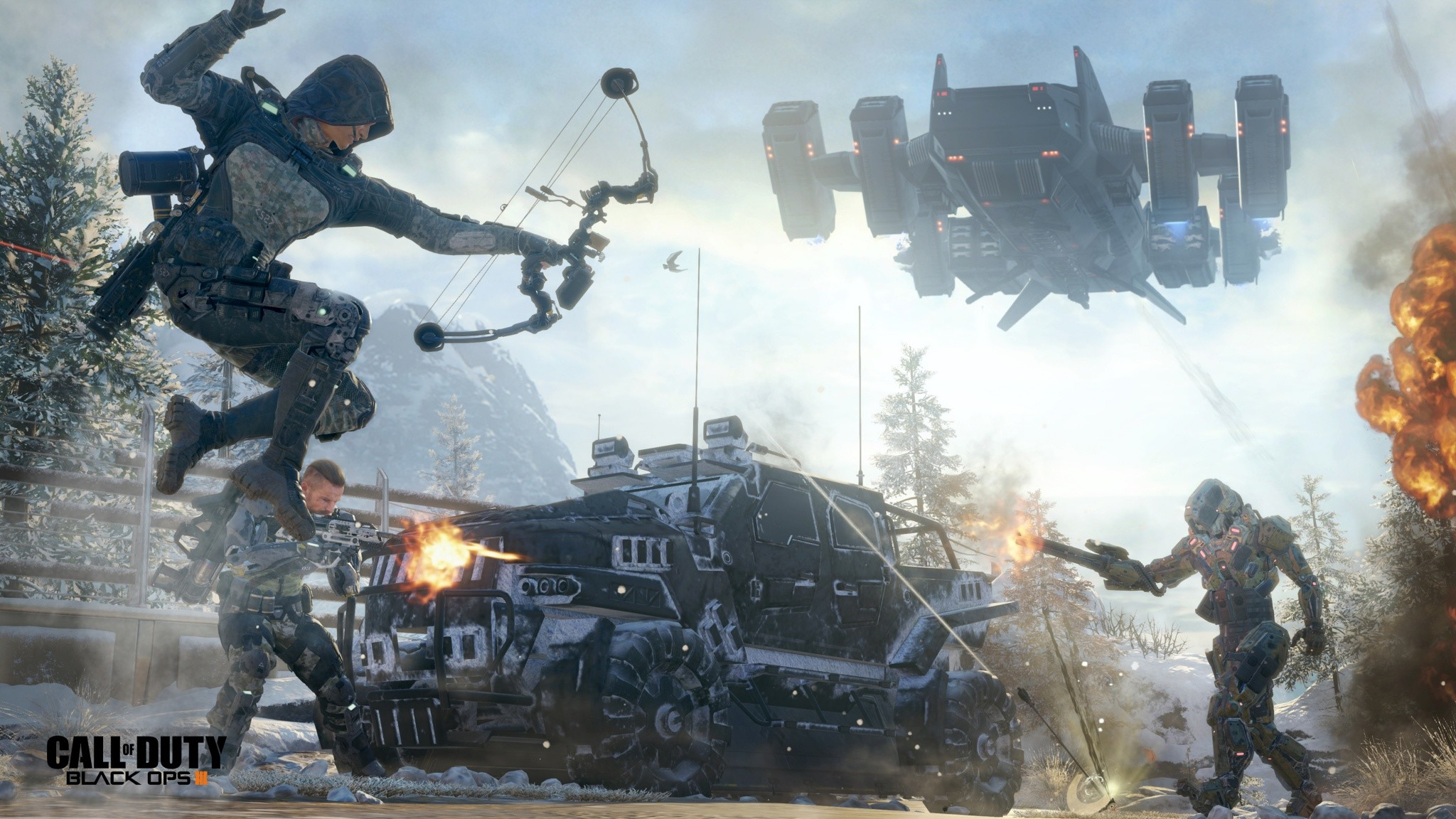 Call Of Duty Black Ops III Stronghold Broken Arrow | 2048 x 1152 …