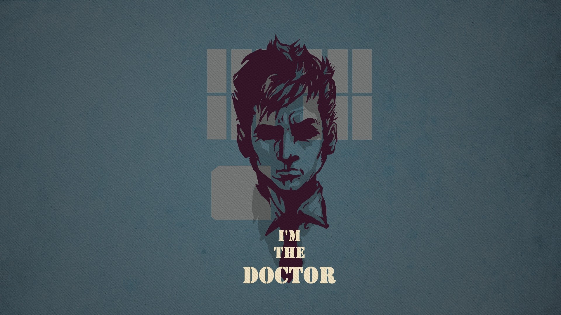 Preview wallpaper doctor who, tardis, tennant 1920×1080