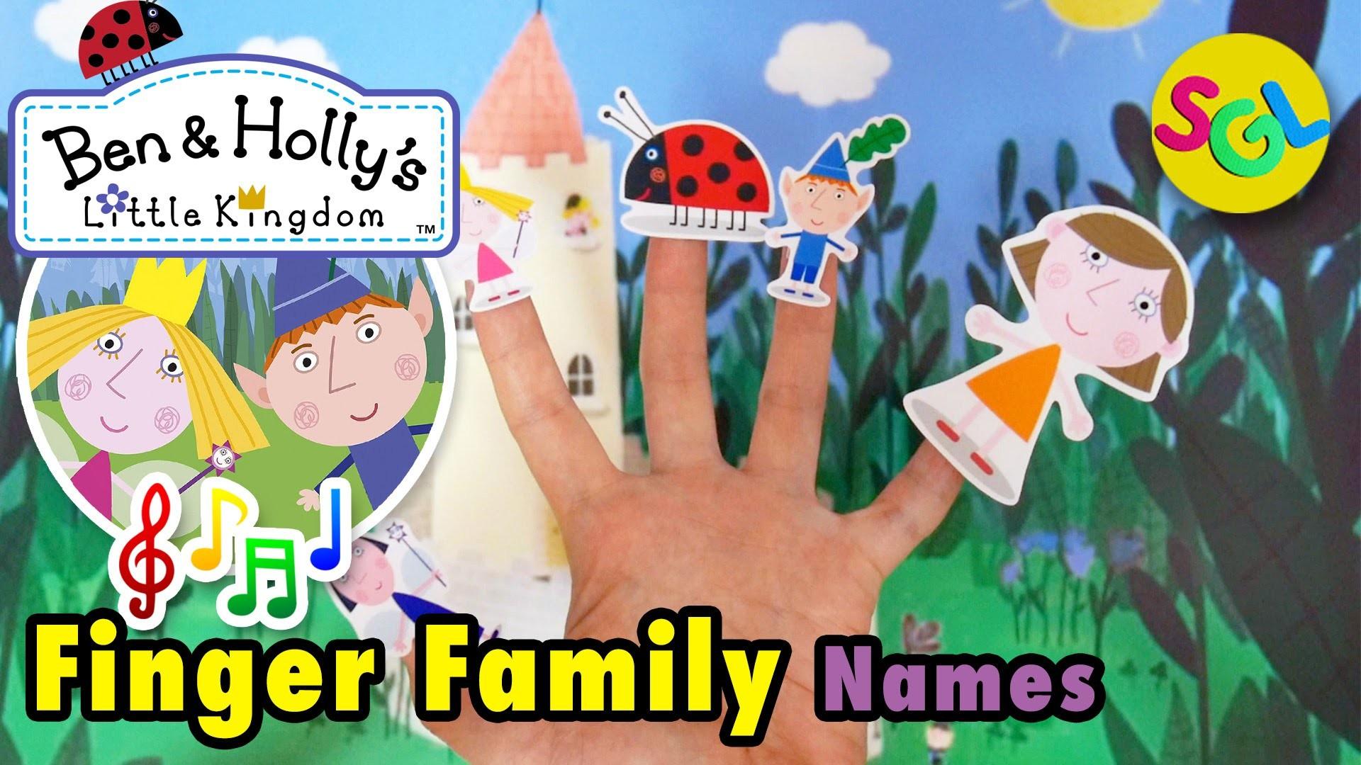 BEN & HOLLY'S Little Kingdom Finger Family Song: Characters of Ben & Holly  Finger Family – YouTube