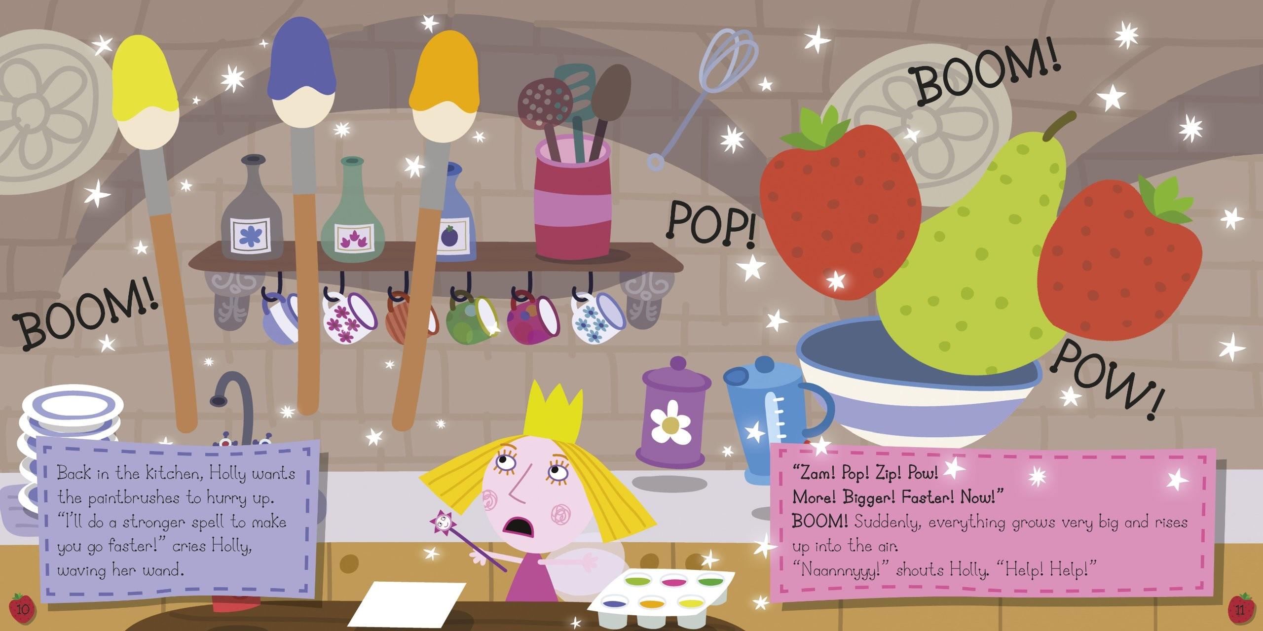 Ben and Holly's Little Kingdom: Ben Elf's Birthday Storybook (Ben & Holly's  Little Kingdom): Amazon.co.uk: Ladybird: 9781409308881: Books