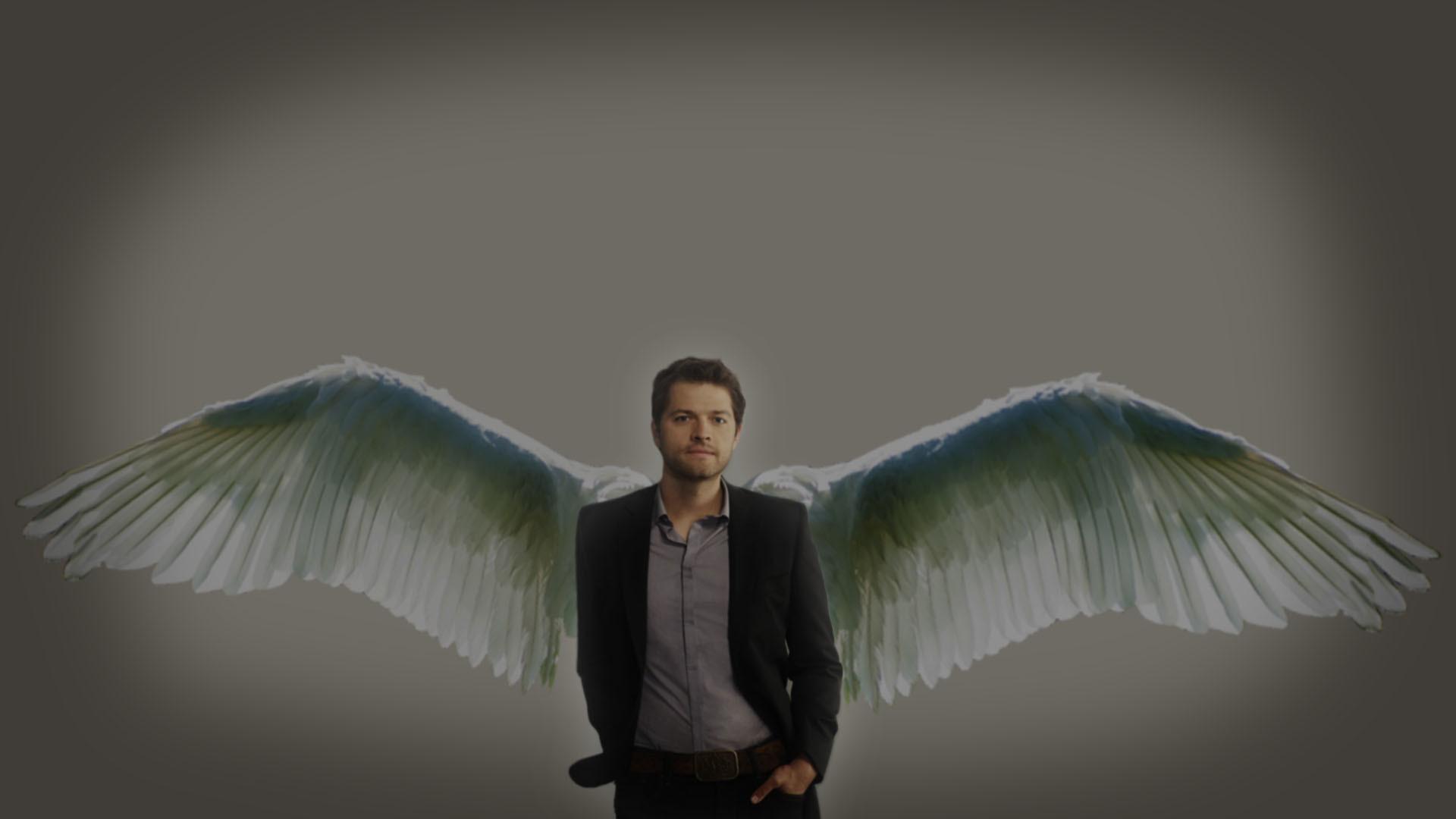 Castiel Supernatural Iphone HD Background.