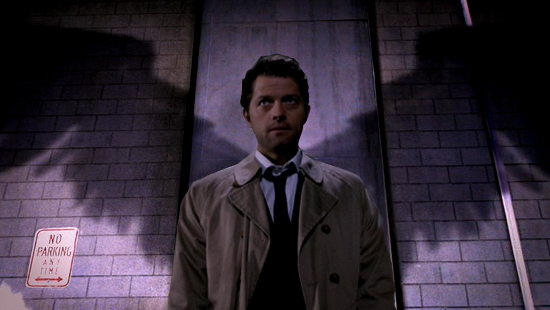 First attempt Castiel 1920×1080 cross post from /r/wallpapers/ …
