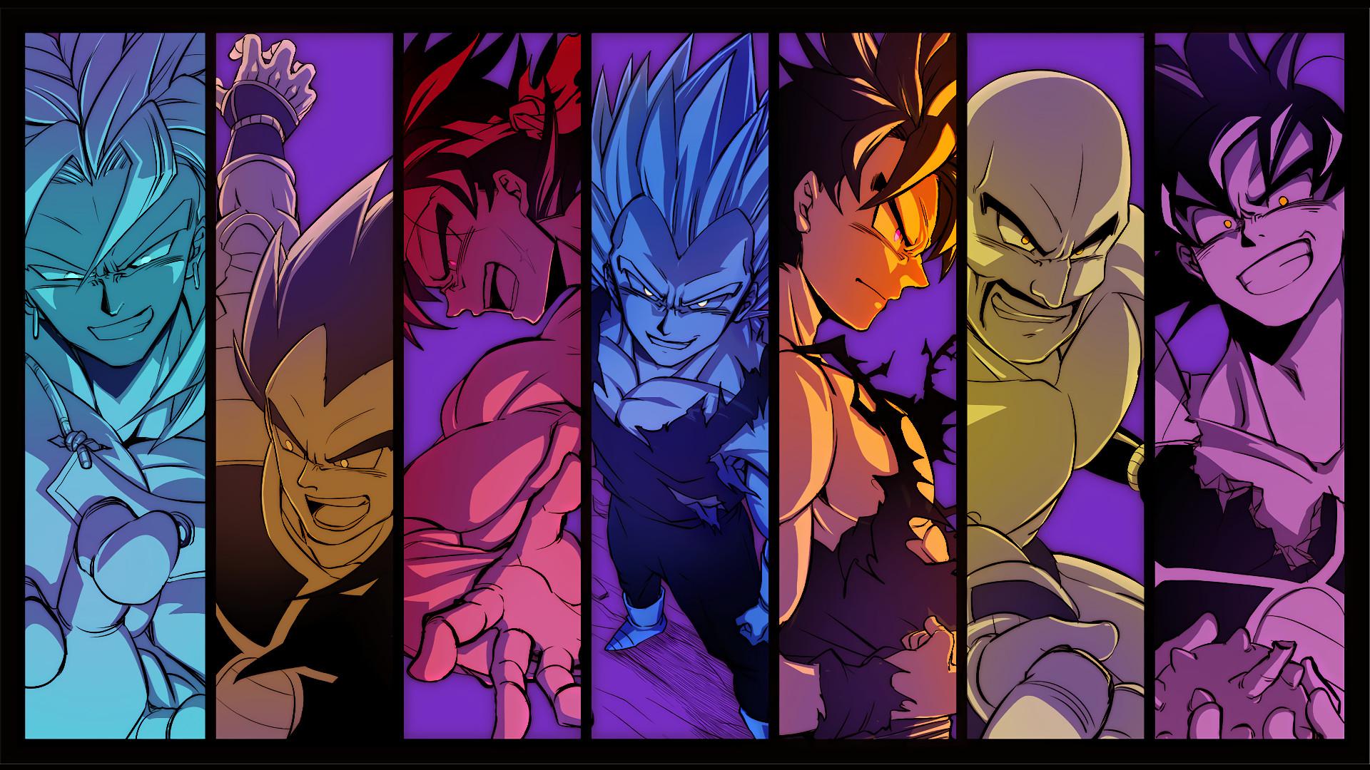 Bardock Dragon Ball Z · Fondo de pantalla HD | Fondo de Escritorio ID:742820