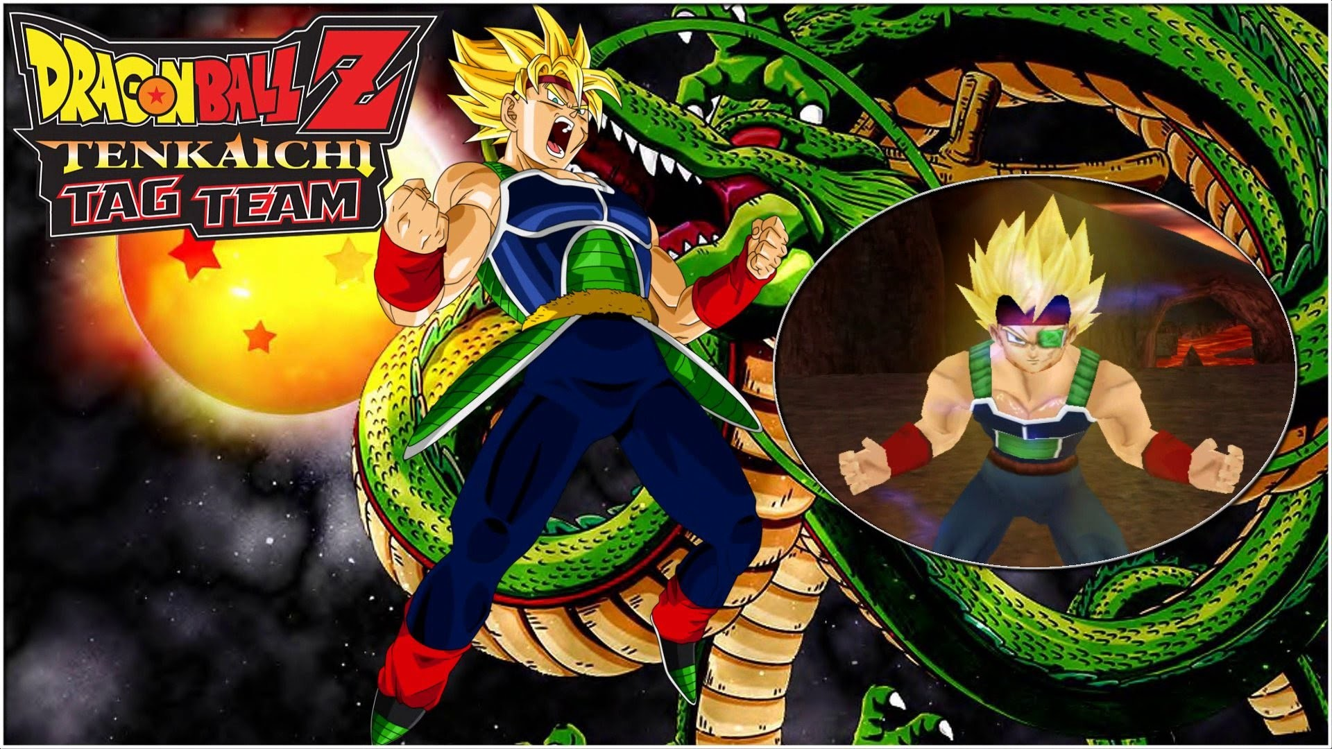 Dragon Ball Z Tenkaichi Tag Team | Bardock Super Saiyan (MOD) Gameplay –  YouTube