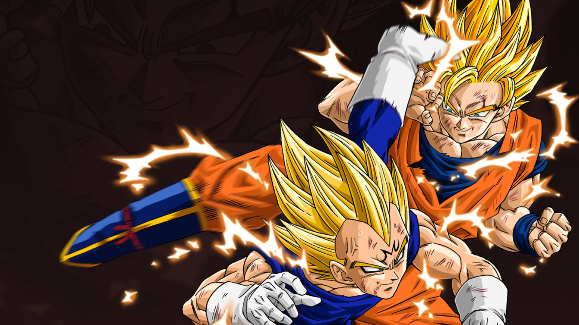 Goku & Vegeta Wallpaper – Dragon Ball Z Wallpaper (35713309) – Fanpop