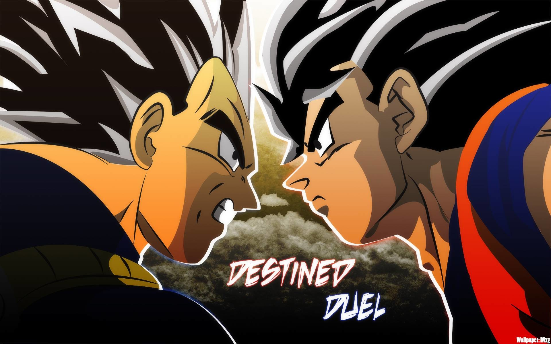 Goku vs Vegeta Wallpaper – Dragon Ball Z Wallpaper (35965661) – Fanpop