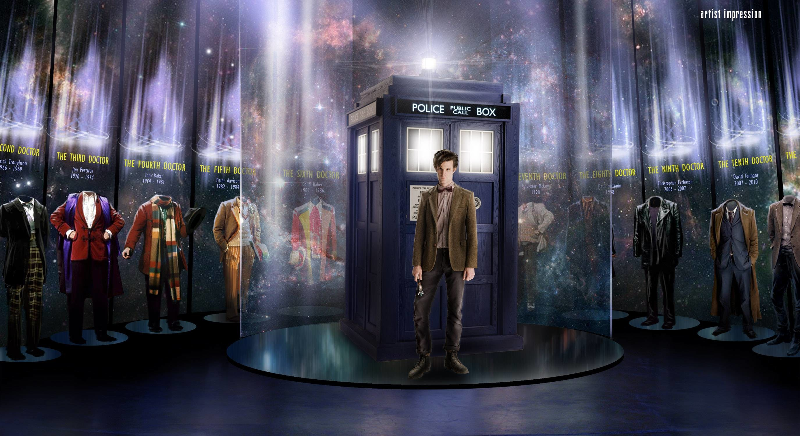 All Doctors – Doctor Who Wallpaper