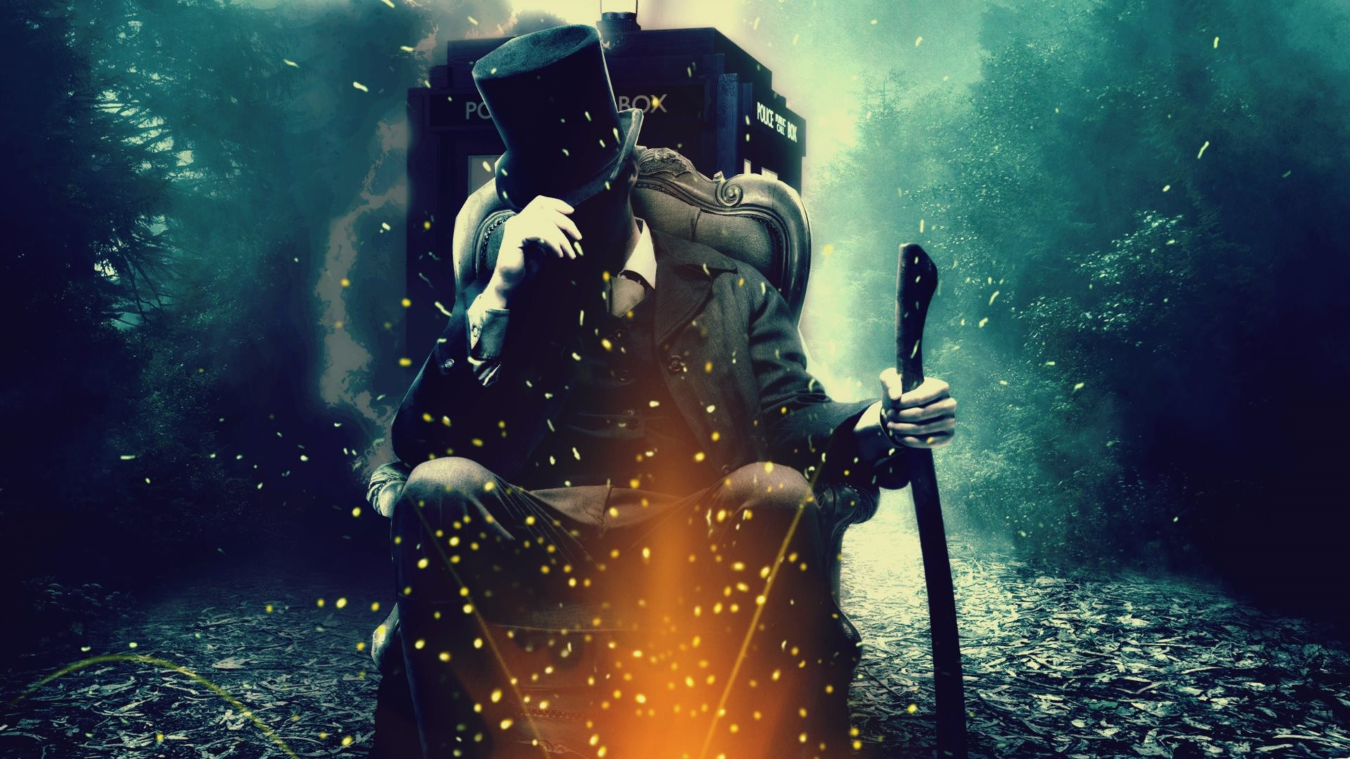 4K HD Wallpaper: Doctor Who – Abraham Lincoln Vampire Hunter