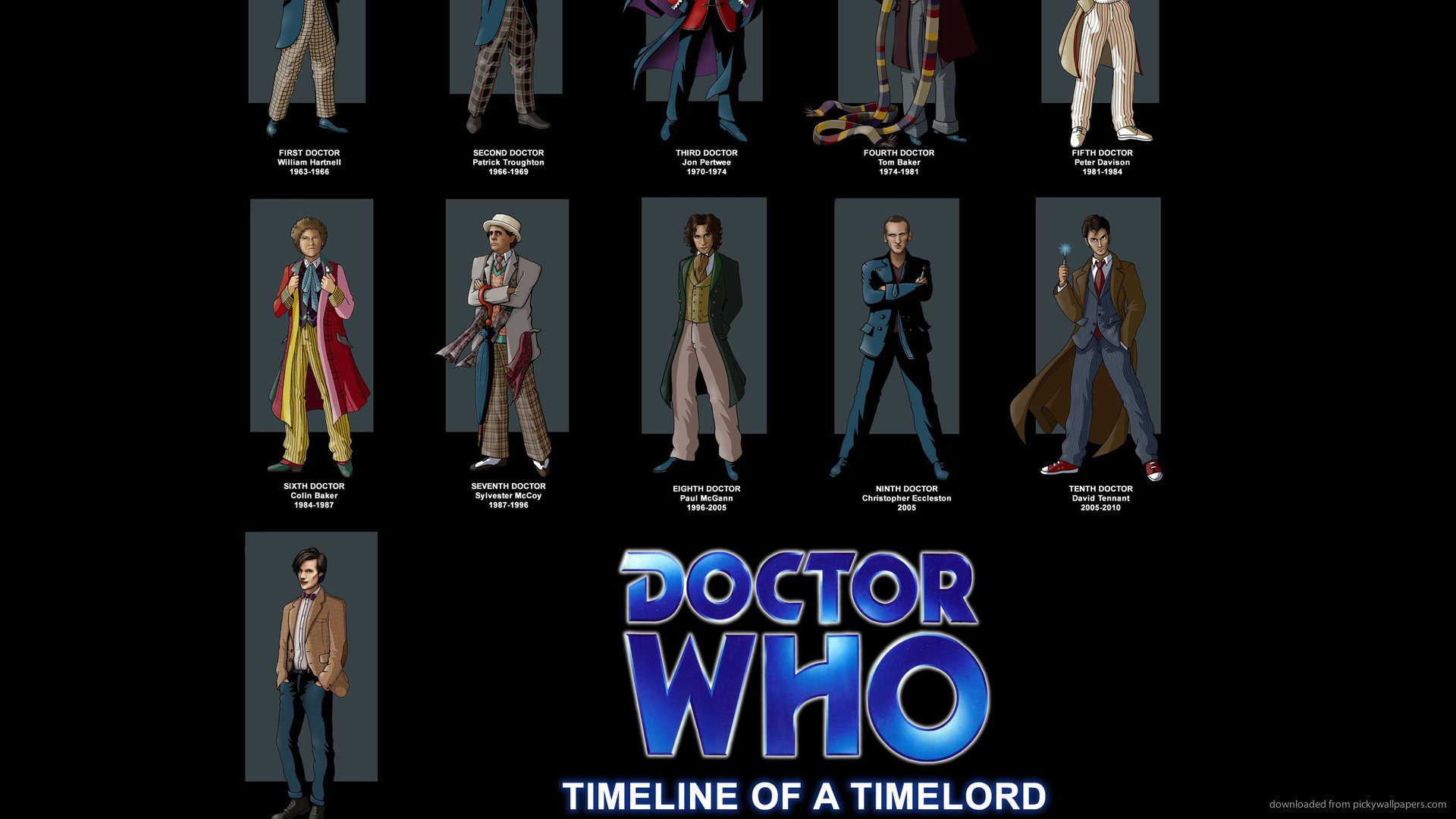 Doctor Who Timeline Of A Timelord for 1920×1080