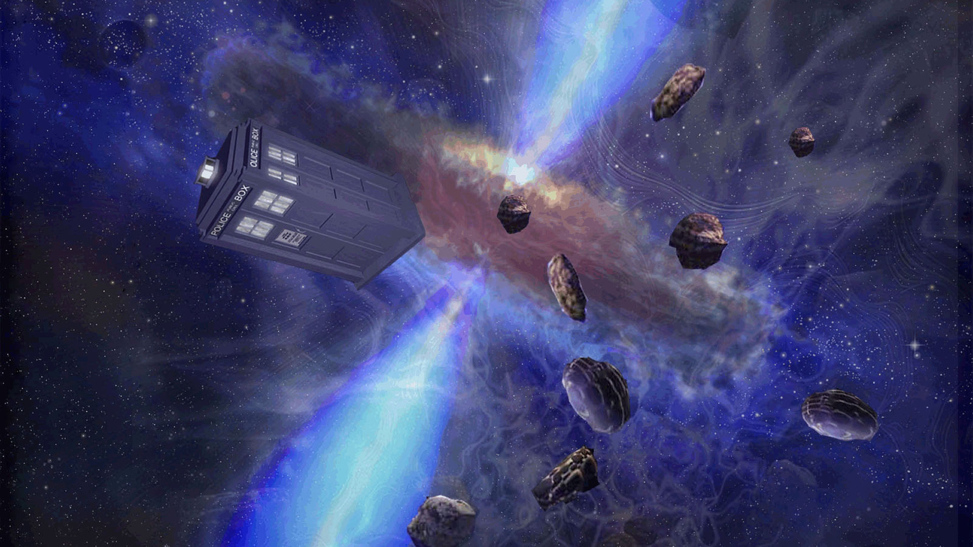 Doctor Who Tardis HD Wallpaper. « »