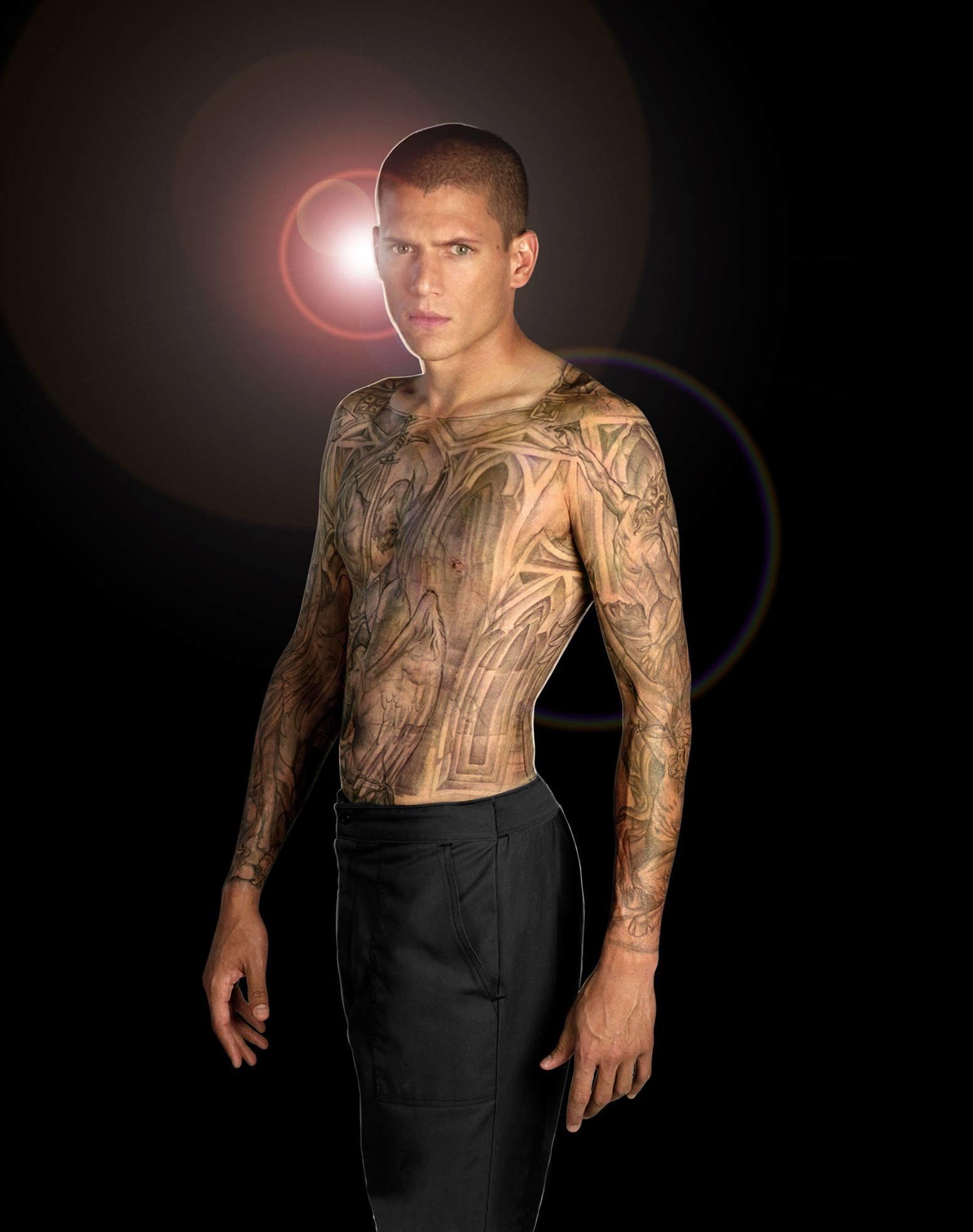 Tattoos wentworth miller prison break michael scofield wallpaper .