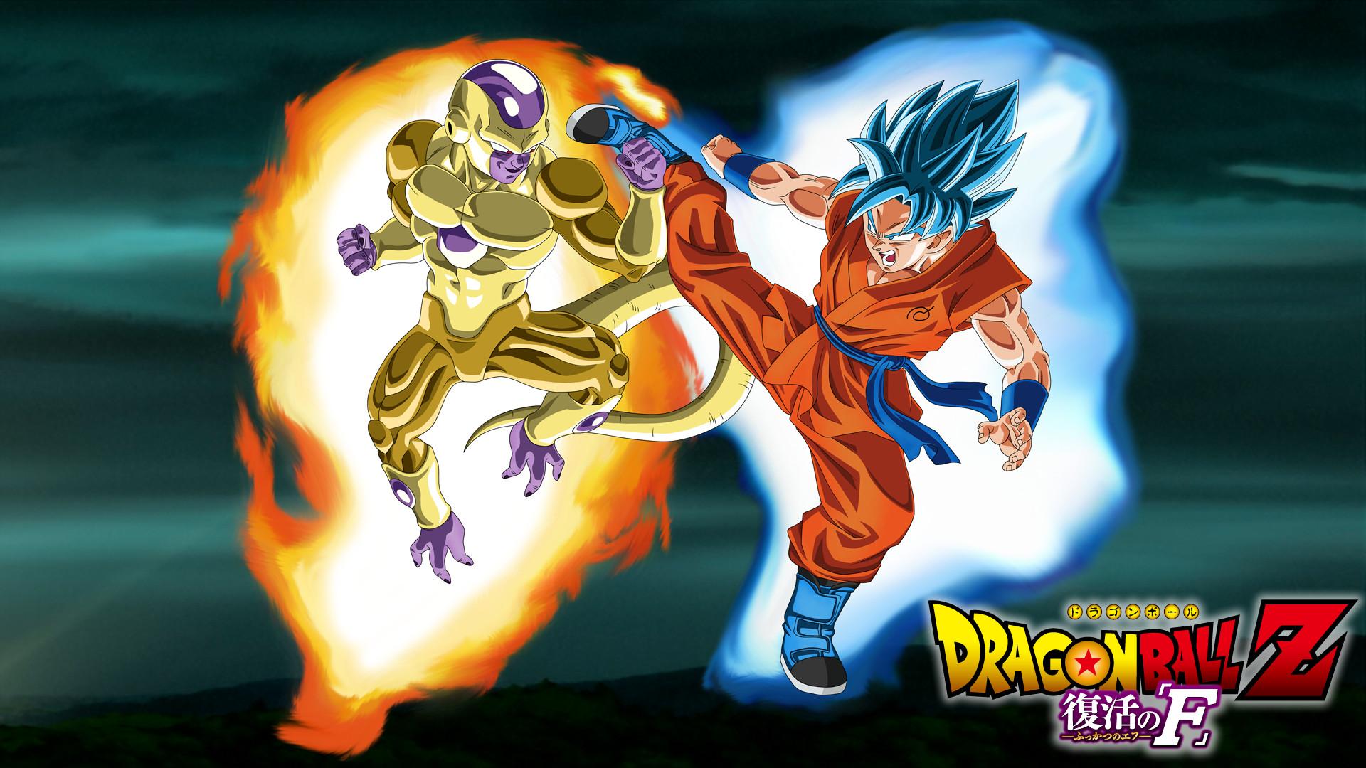 Gold Frieza vs SSGSS Goku Aura Wallpaper by EymSmiley on .