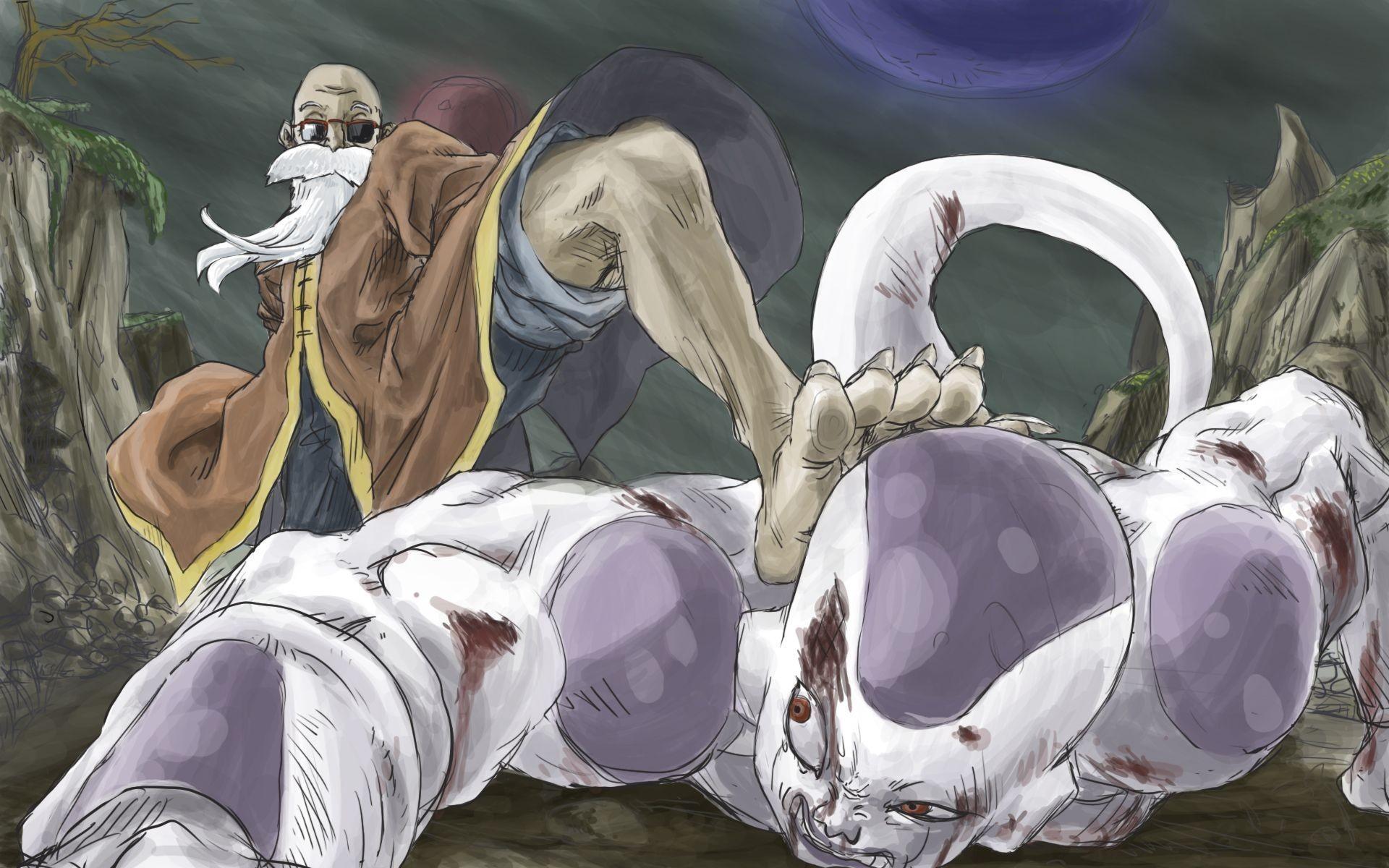 … Frieza and Master Rosi – Dragon Ball Z HD Wallpaper 1920×1200
