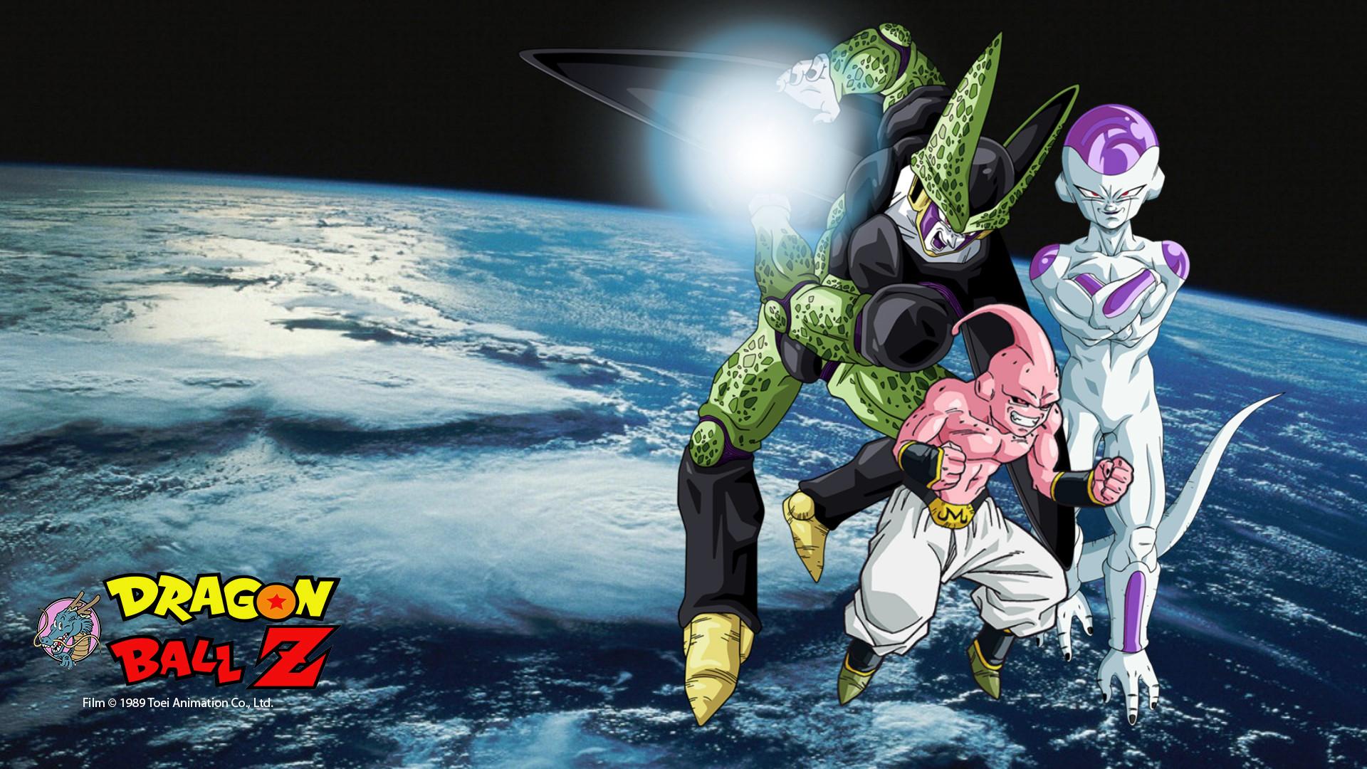 Anime – Dragon Ball Z Frieza (Dragon Ball) Majin Buu Cell (Dragon Ball