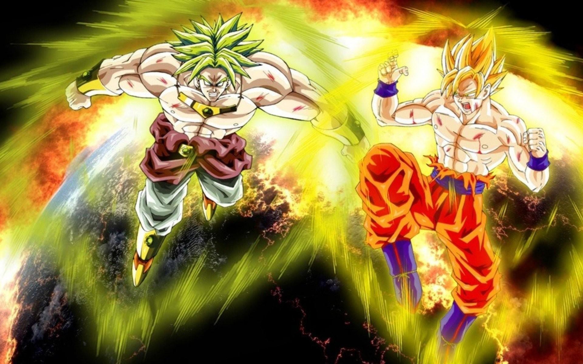Broly Vs Goku …