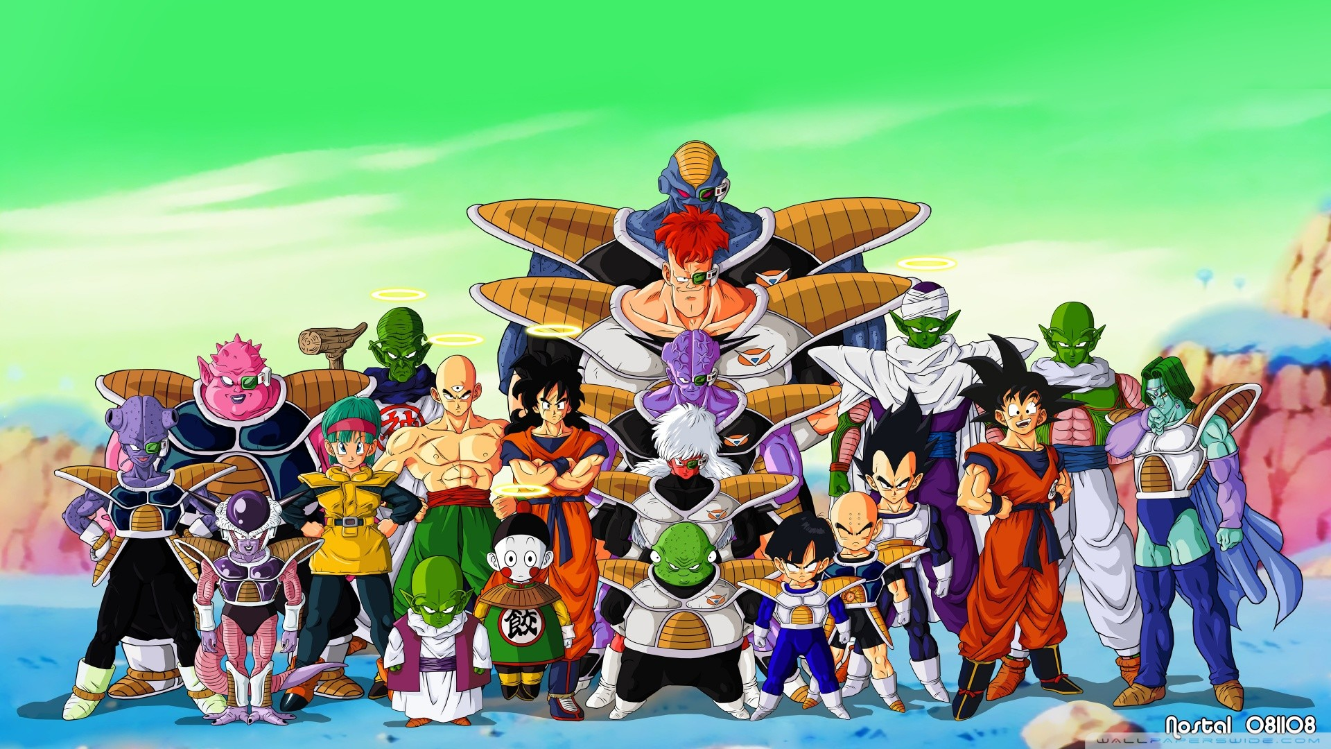 Dragon Ball Z Pictures HD Wallpaper of Anime