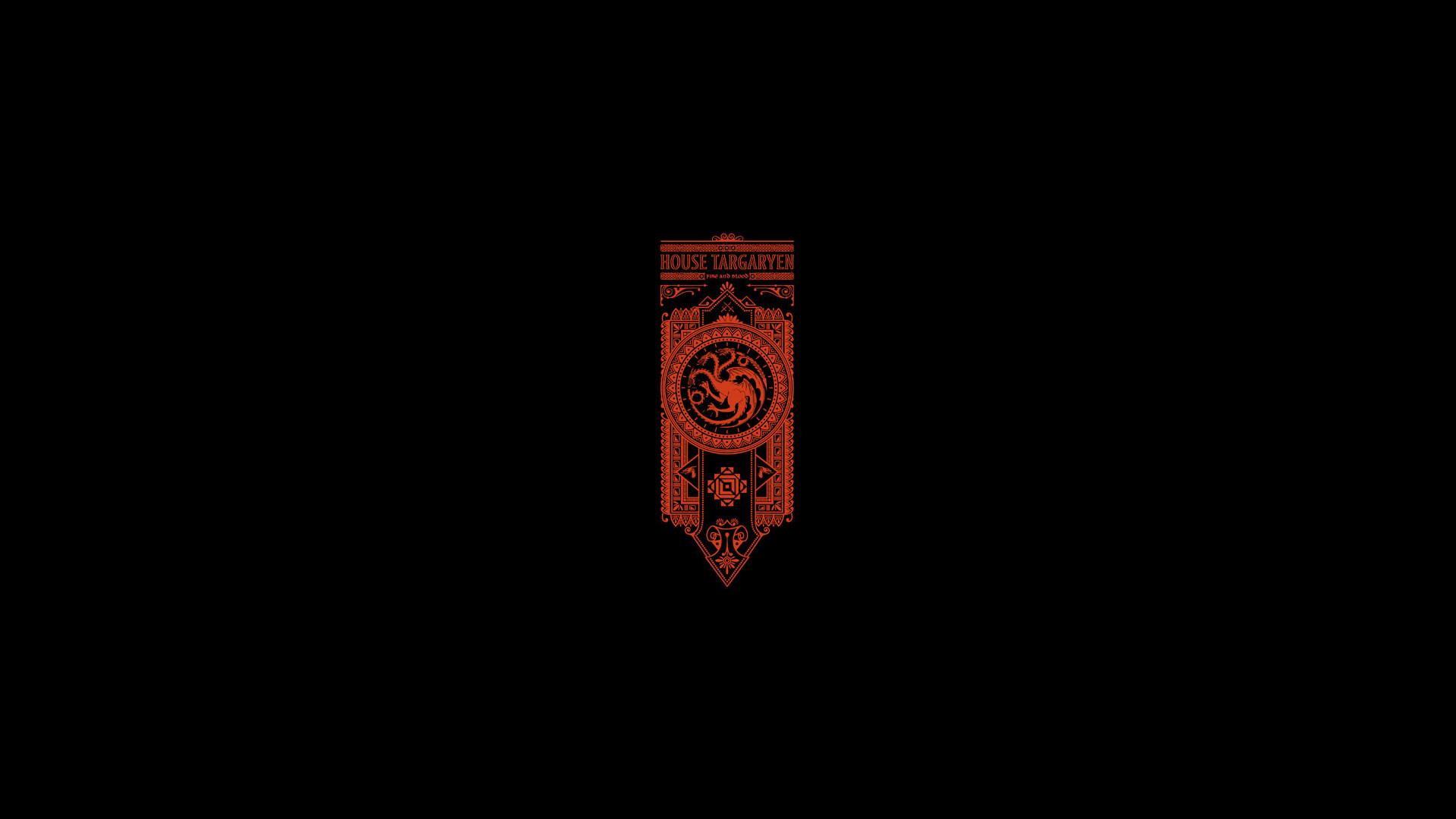 House Targaryen Game of Thrones 4k full hd iphone android wallpaper