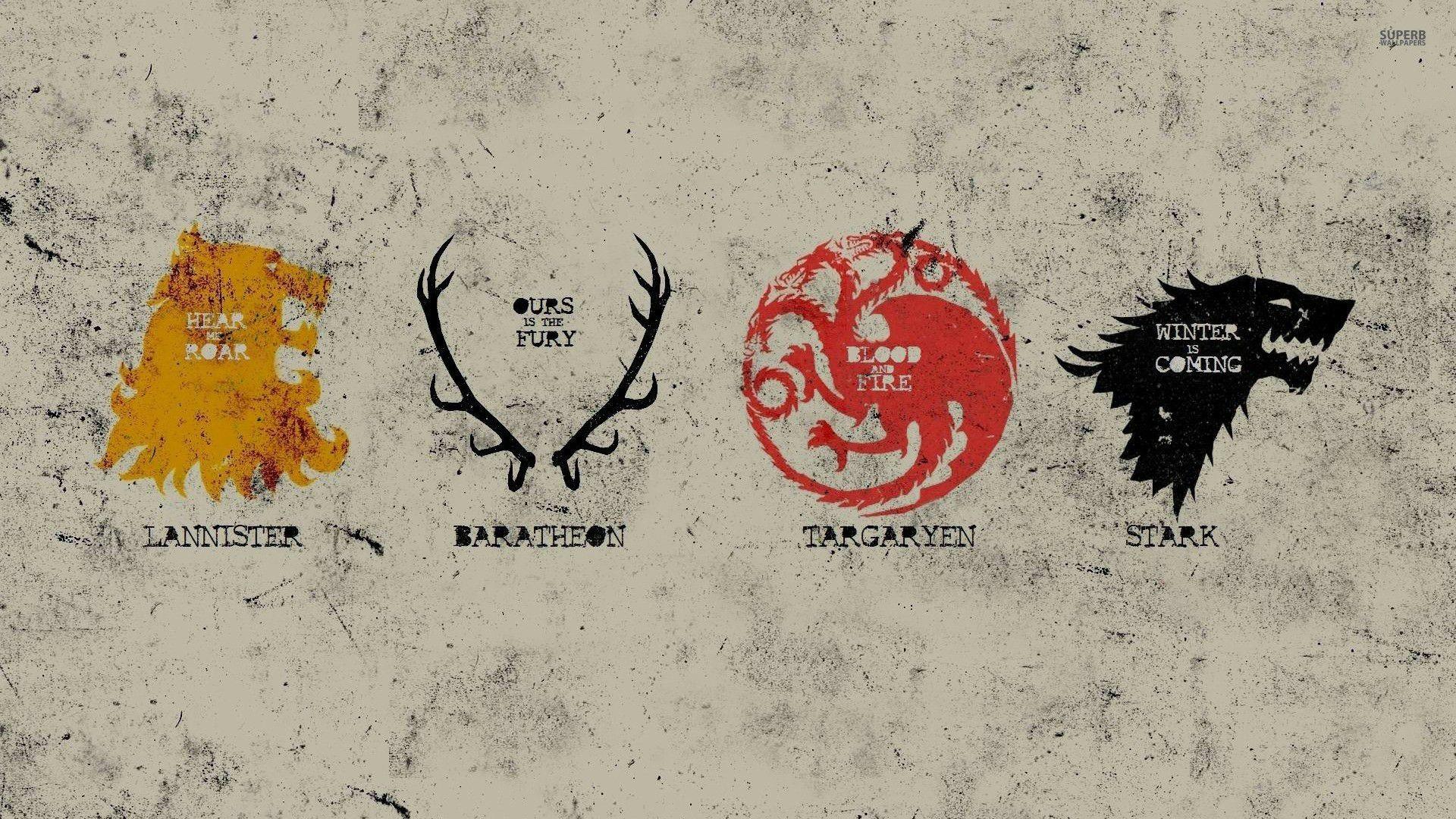 game of thrones season house wallpaper