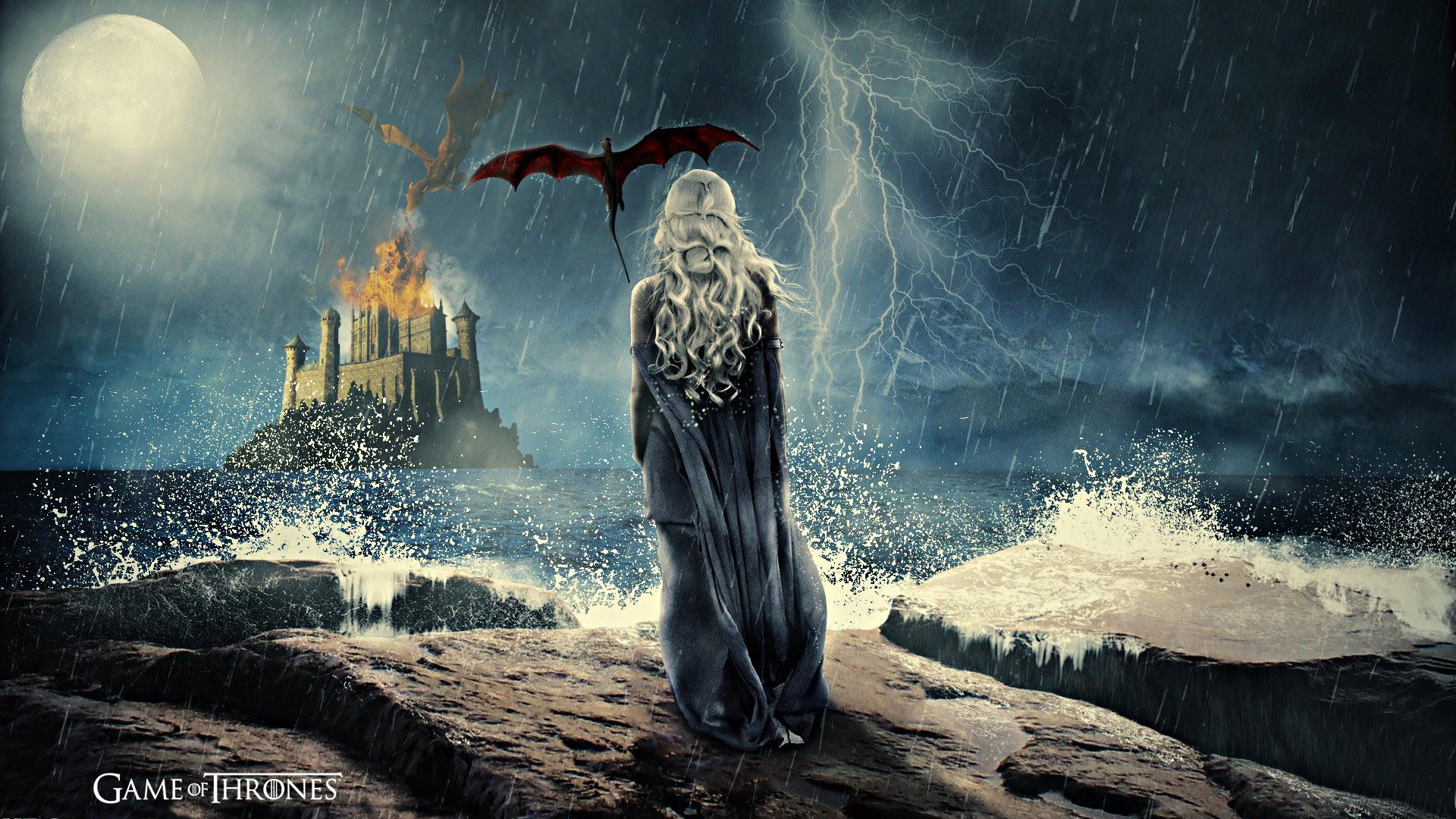 TV Show – Game Of Thrones Woman Daenerys Targaryen Wallpaper