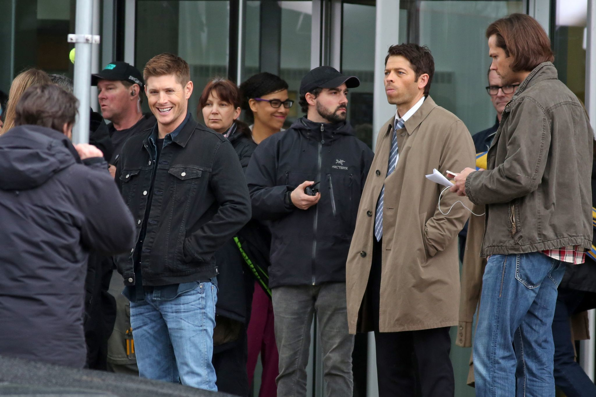 Jensen Ackles Jared Padalecki Misha Collins   jensen-ackles-jared-padalecki -and