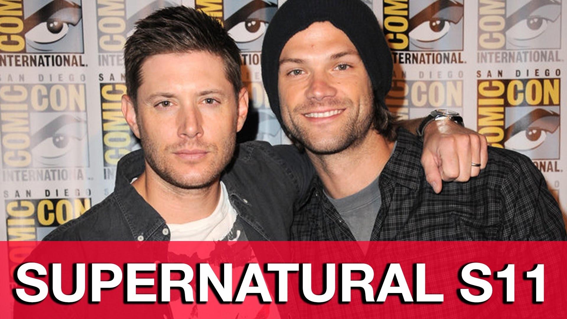 Supernatural Season 11 Interviews – Jensen Ackles, Jared Padalecki, Misha  Collins, Mark Sheppard – YouTube