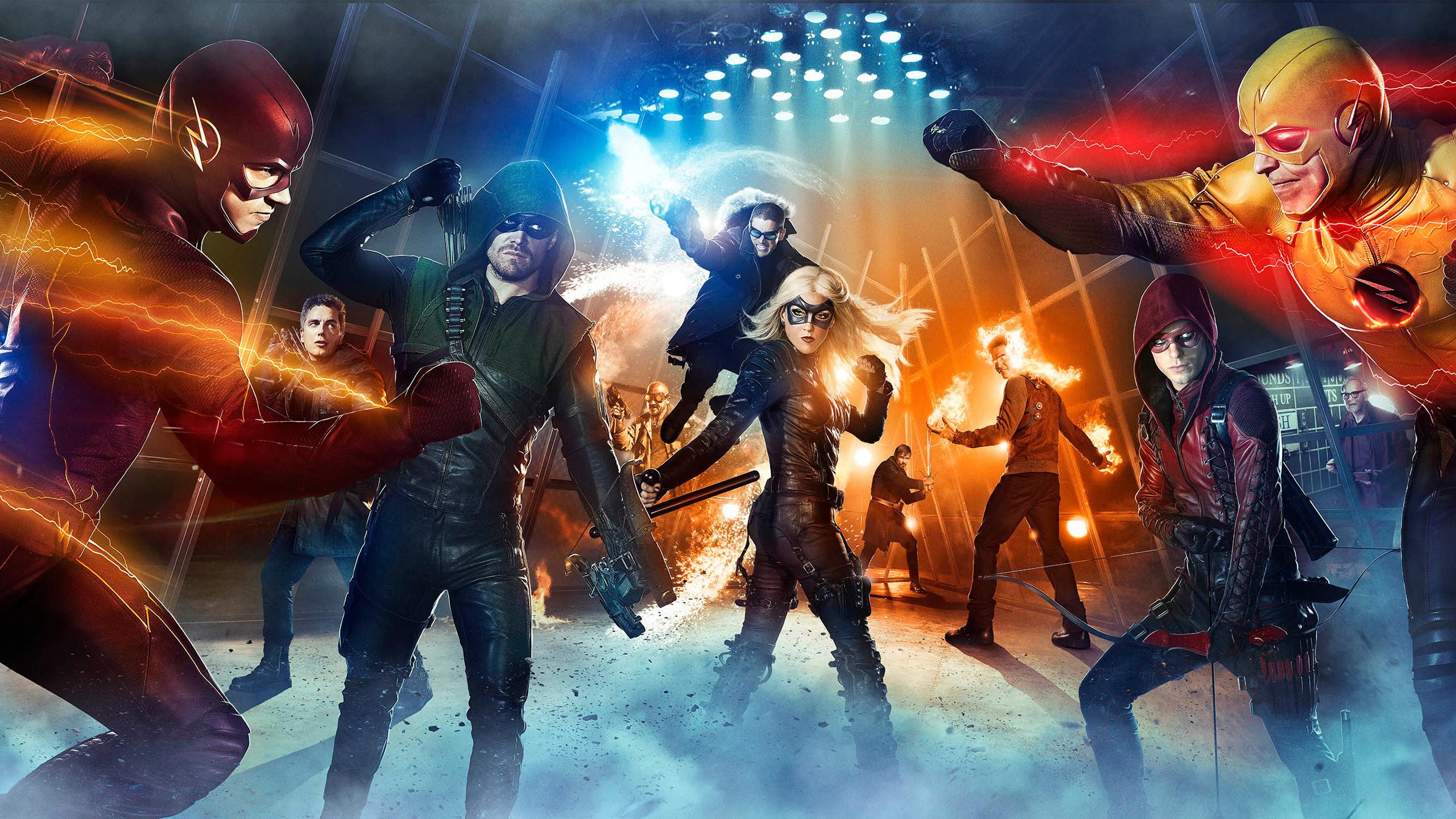 Legends of Tomorrow Arrow Flash