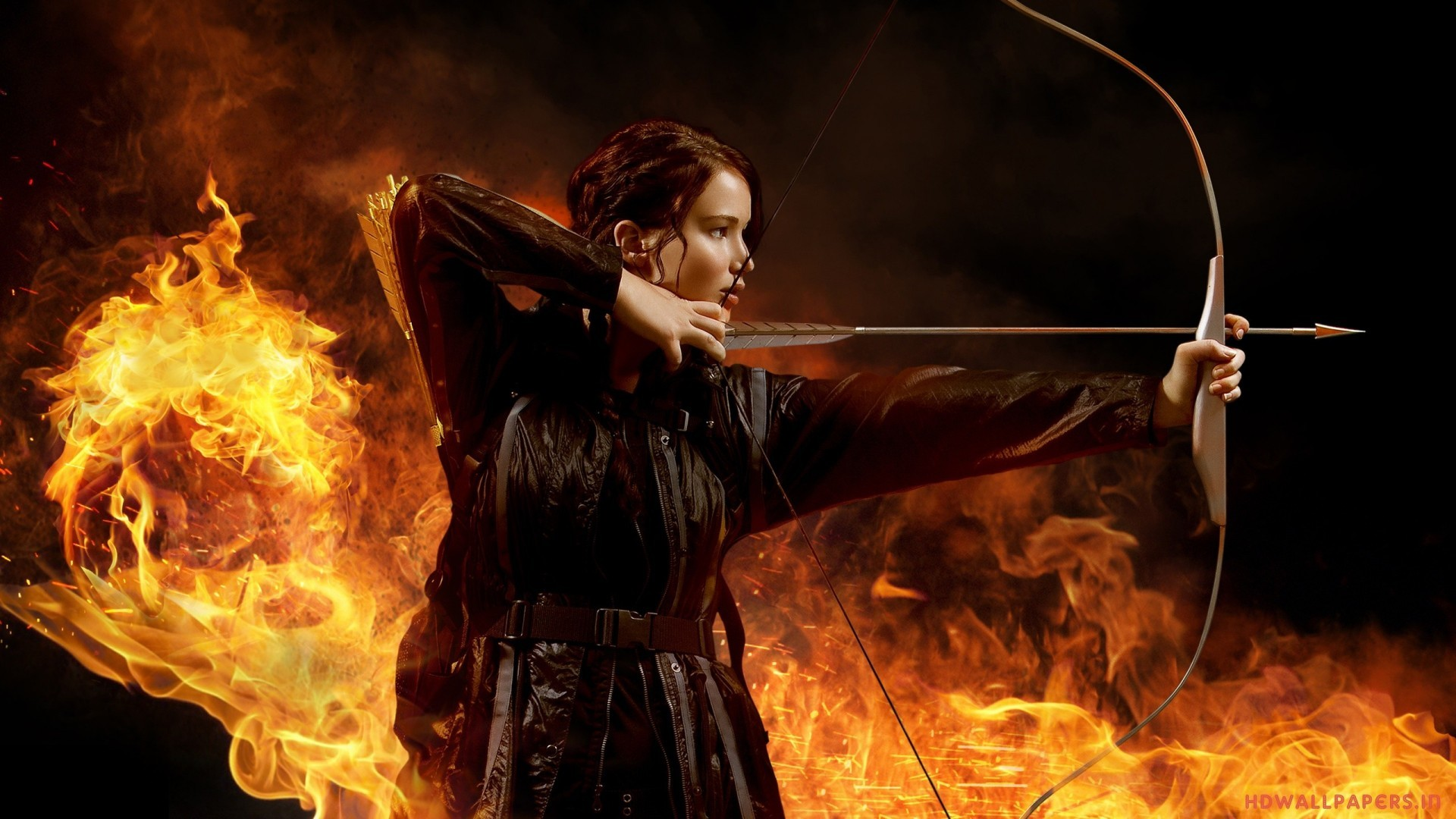 … hunger games bow and arrow hd wallpapers …