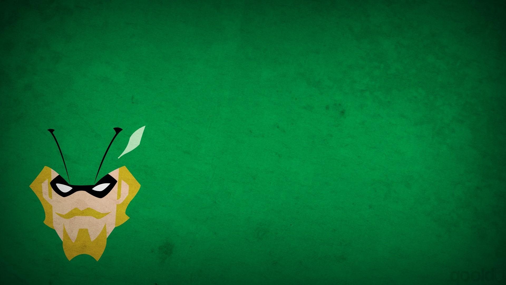 Green Arrow, Minimalism, Green Background, Blo0p, Superhero, DC Comics Wallpapers  HD / Desktop and Mobile Backgrounds