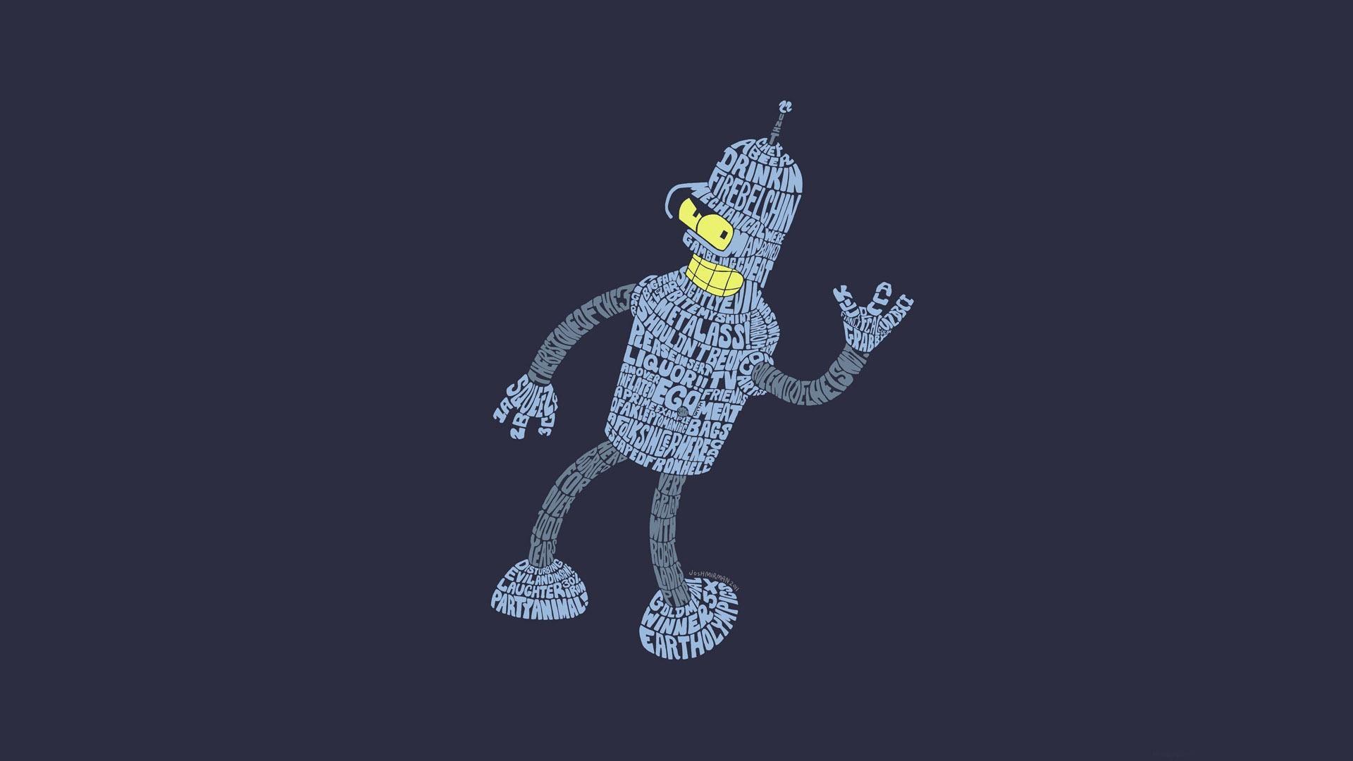 Futurama-Bender-HD-Wallpaper-for-Desktop