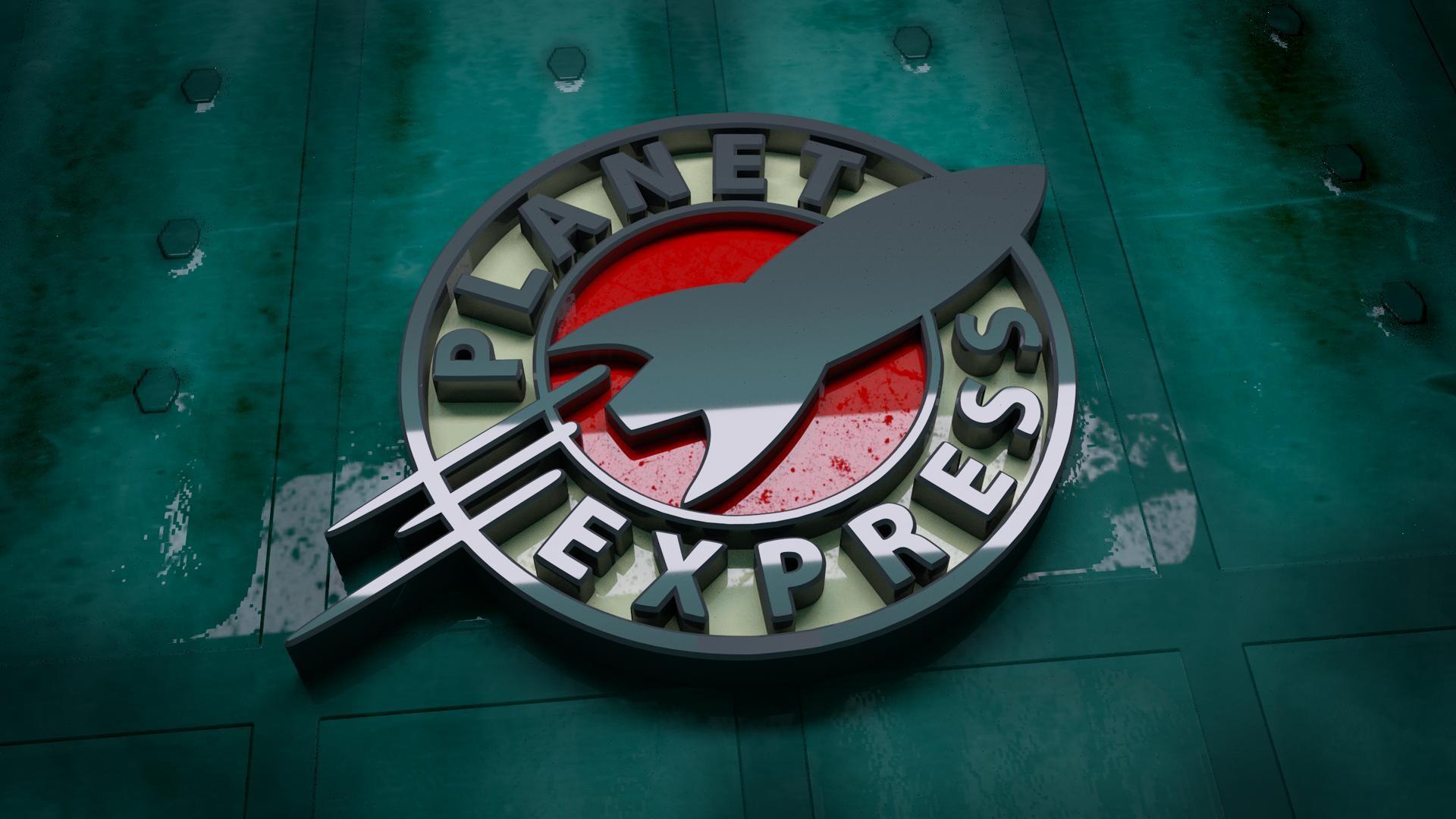 Futurama-Planet-Express-Logo