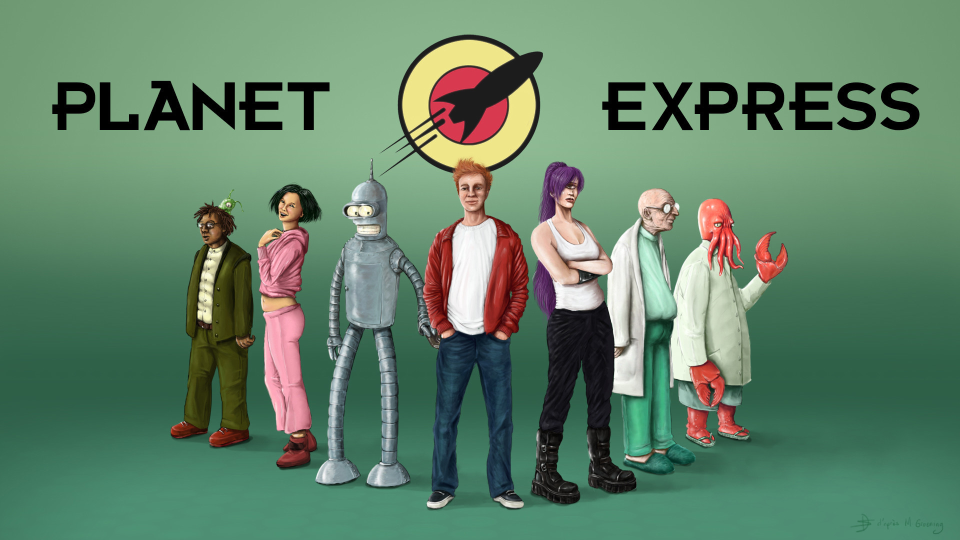 Lifelike Planet Express – Futurama
